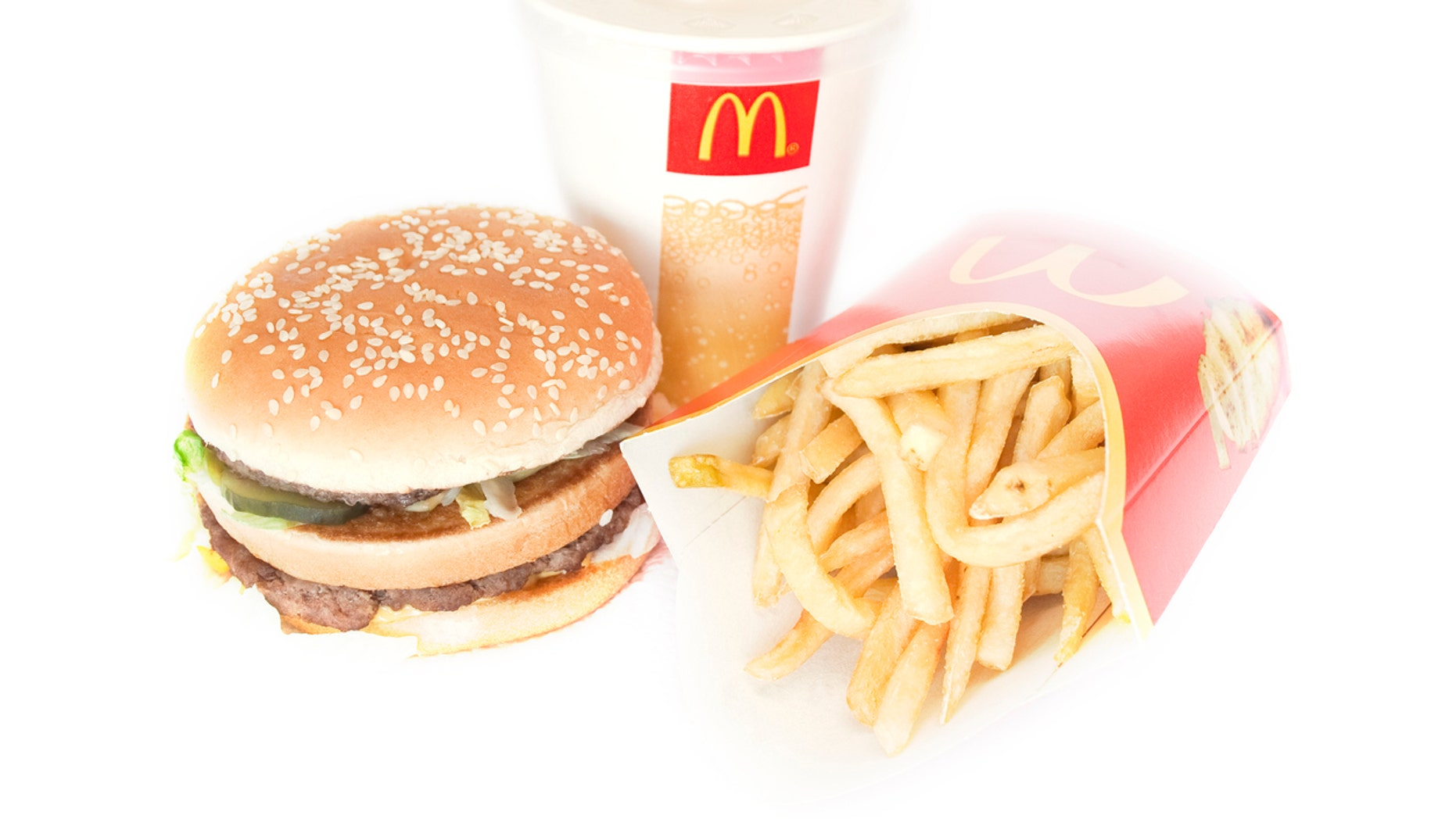 One drunk customer threatened to fight a manager after being served a Big Mac with onions.