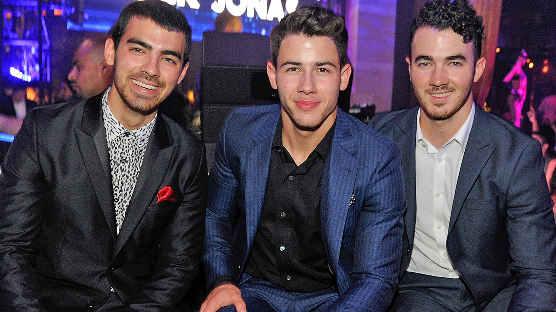 Joe, Nick and Kevin Jonas