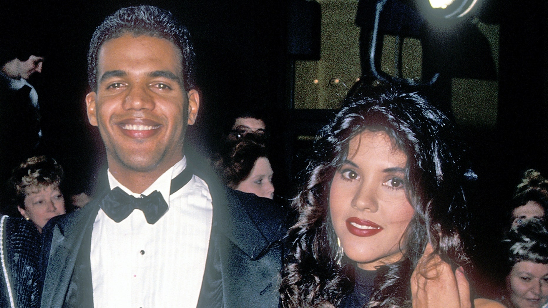 Kristoff and Mia St. John in 1993