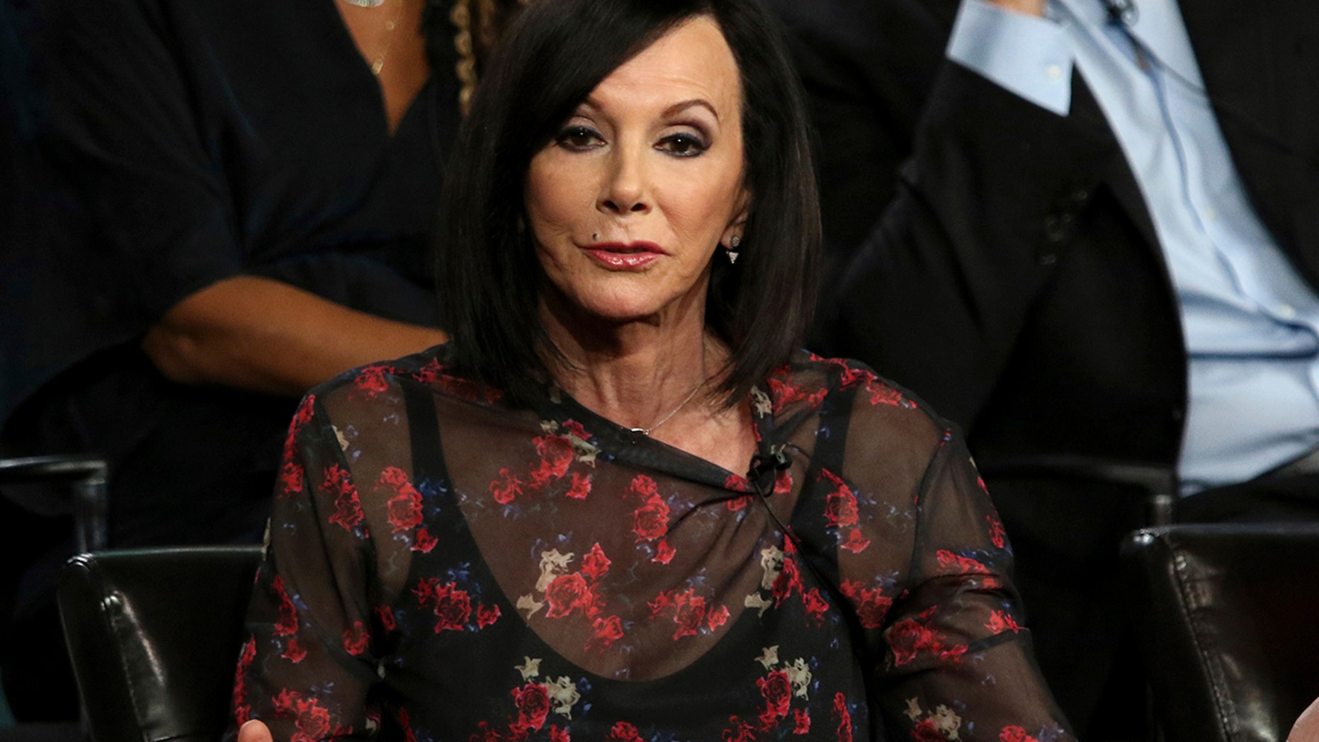 """Marcia Clark participates in the """"The Fix"""" panel during the ABC presentation at the Television Critics Association Winter Press Tour at The Langham Huntington on Tuesday, Feb. 5, 2019, in Pasadena, Calif."""