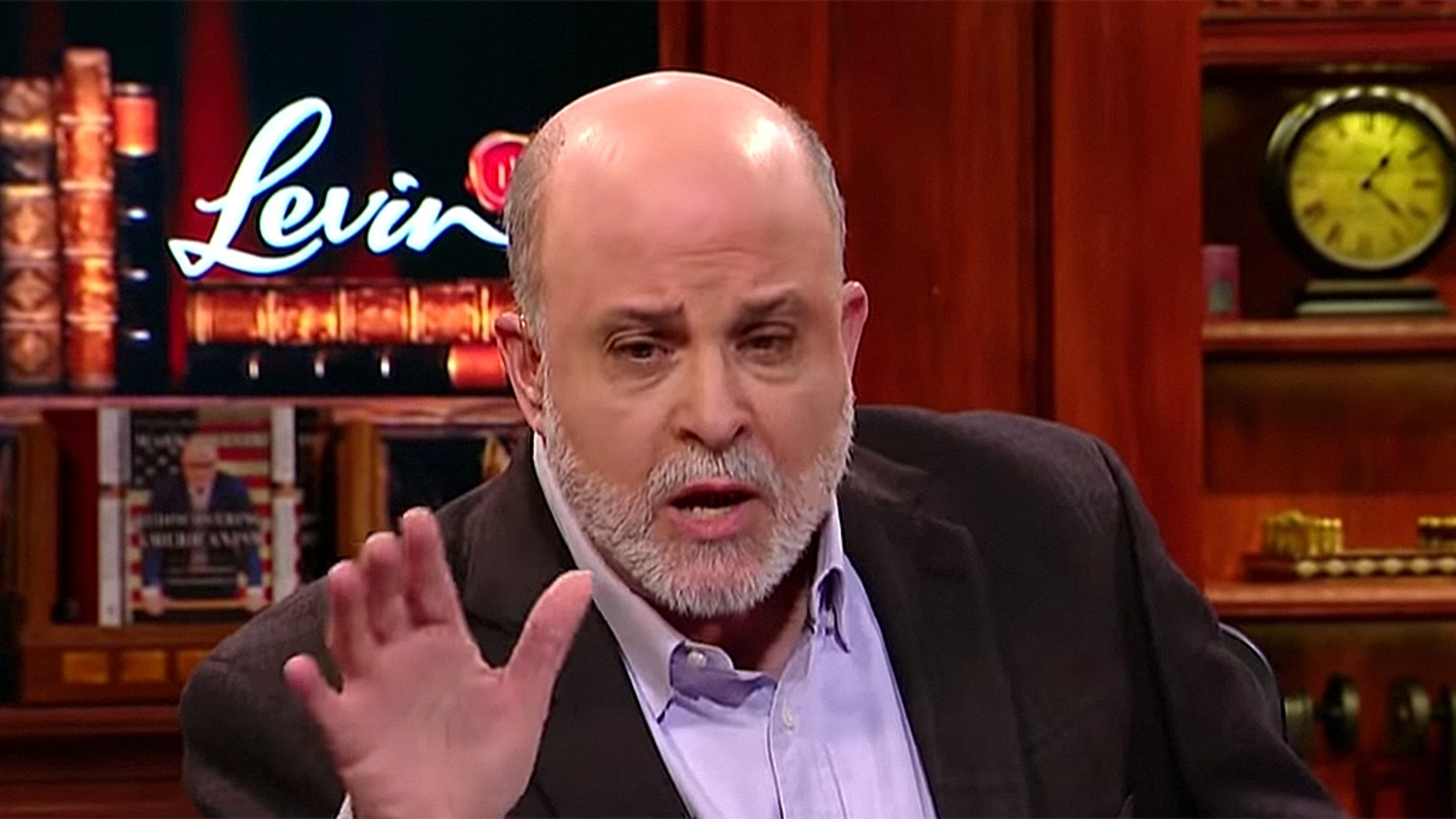 "Fox News host Mark Levin spoke with constitutional expert Dr. John Eastman about the Mueller investigation during this week's ""Life, Libery & Levin."""