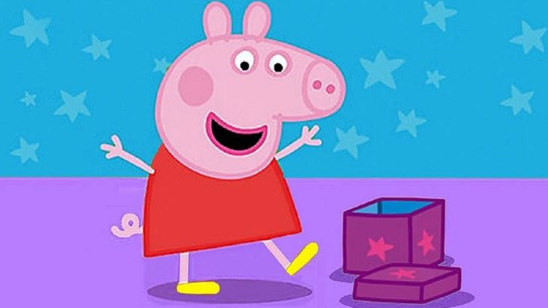 "Some American children have adopted a British accent after watching the ""Peppa Pig"" cartoon."