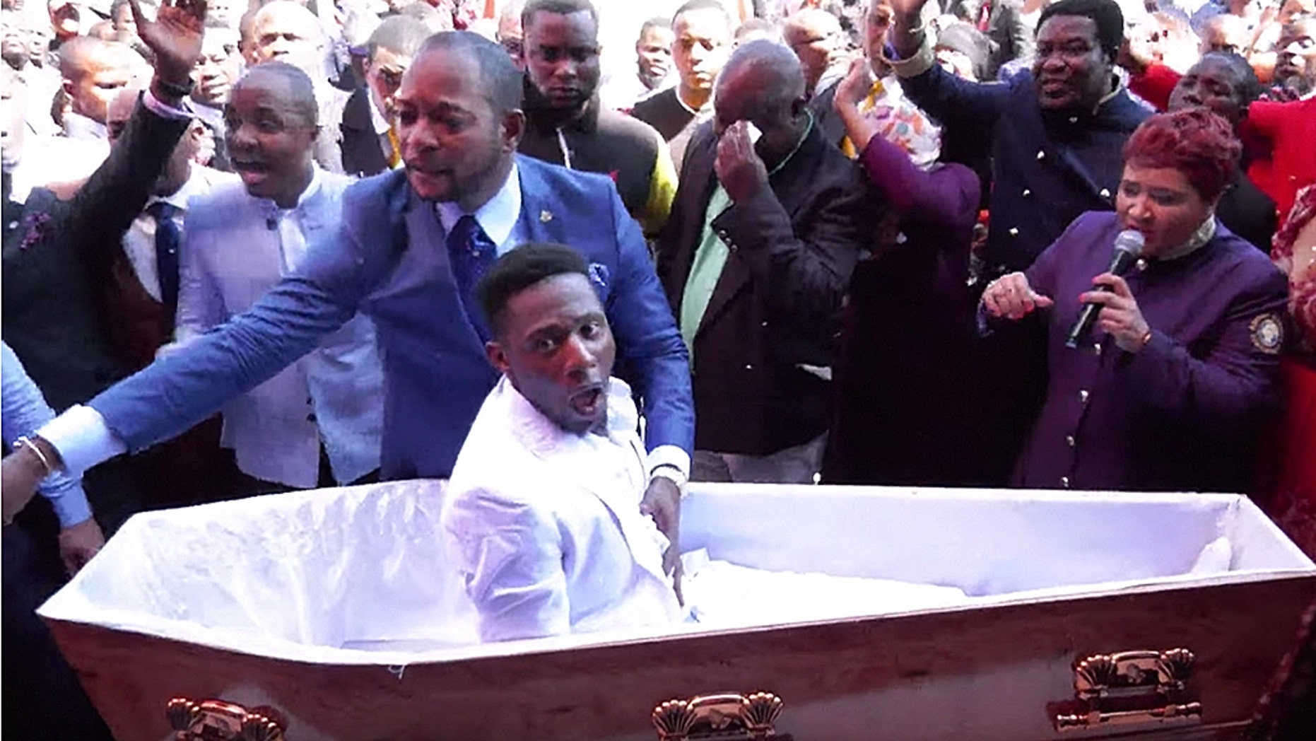 A South African preacher who claimed to have resurrected a man in a now-viral video may be facing charges