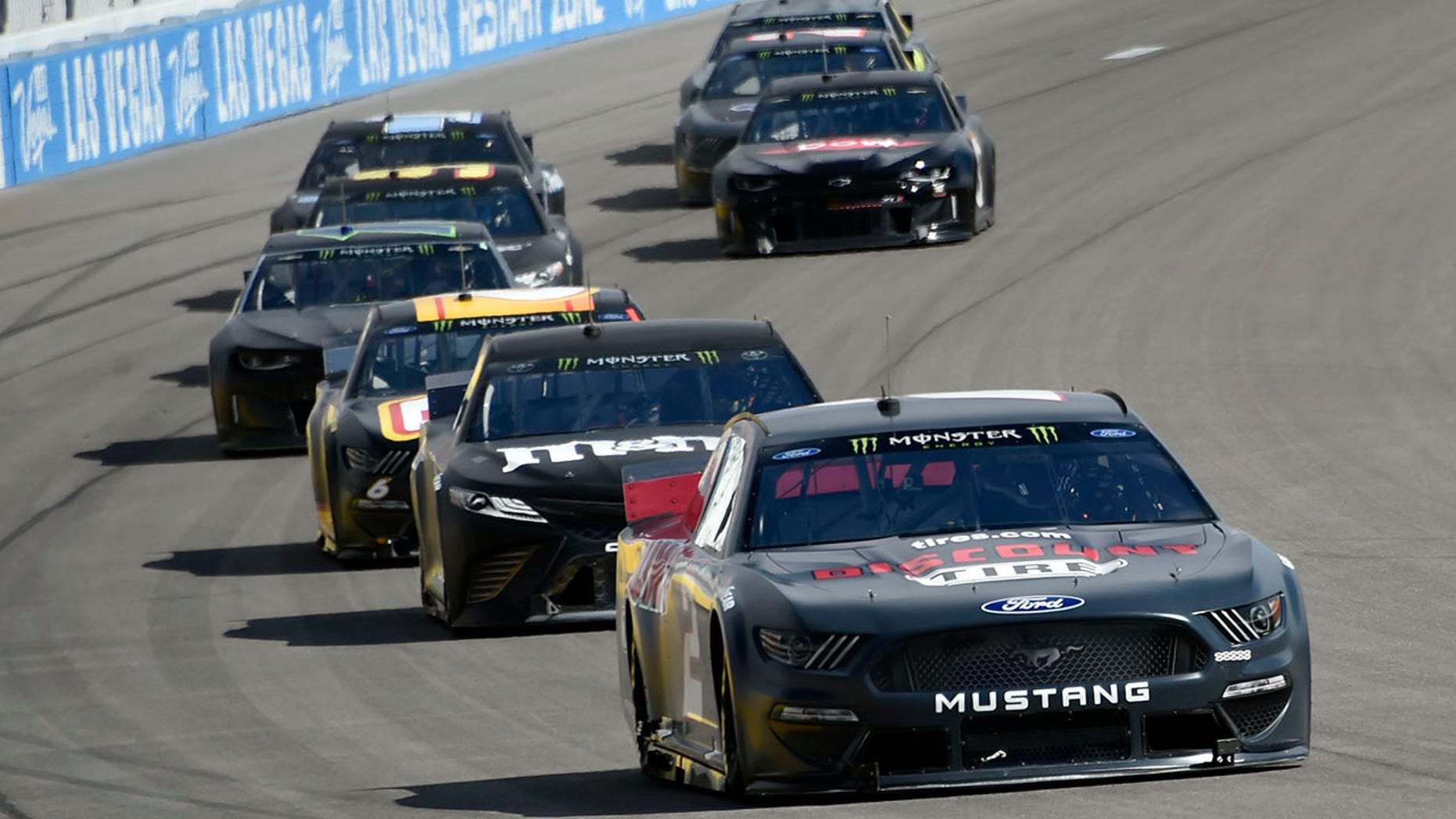 The new rules package was tested at Las Vegas Motor Speedway in January