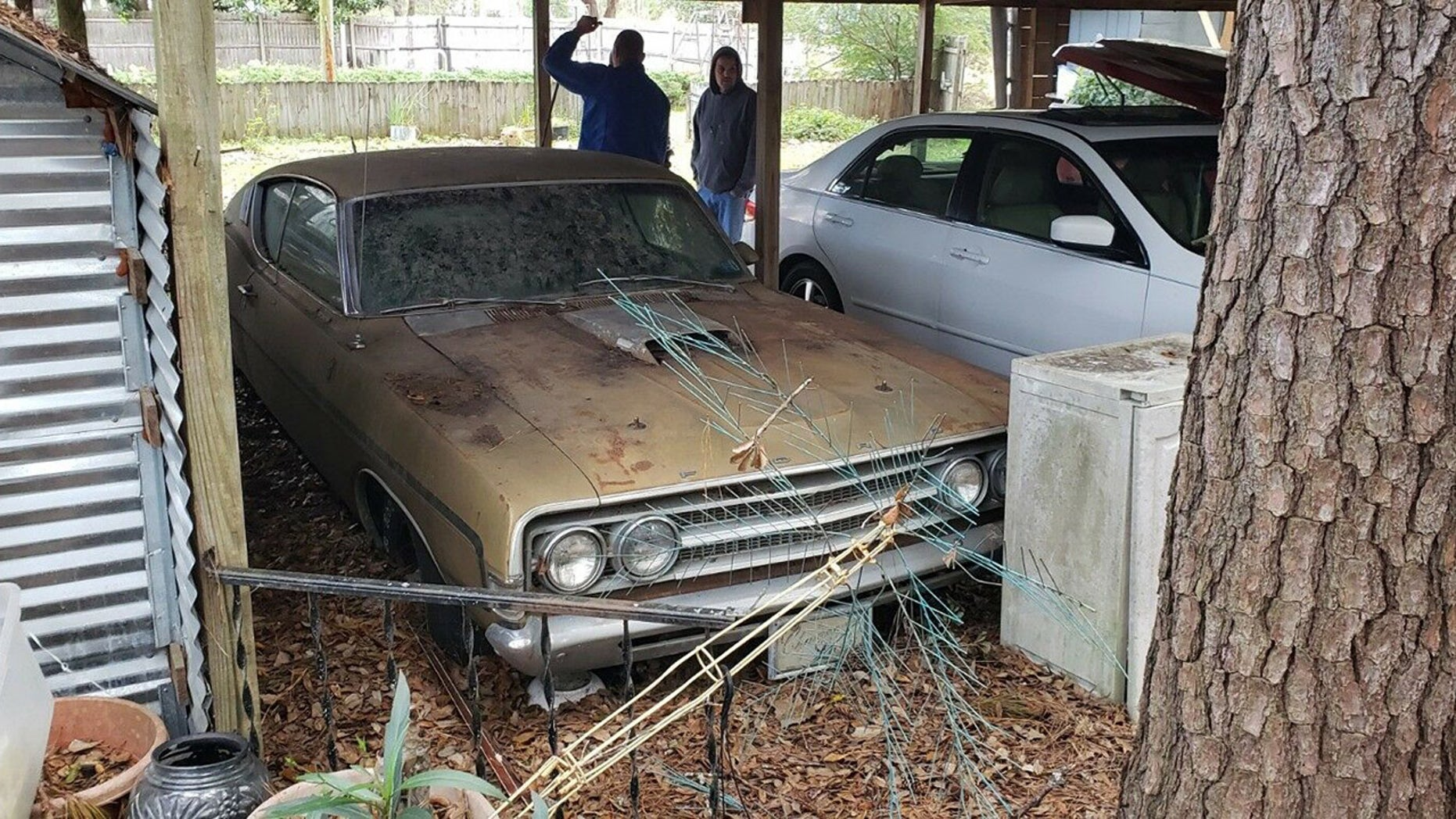 An Open Air Carport In Myrtle Beach Isnt The Ideal Place To Store A Muscle Car For  Years But Thats Exactly Where A Single Owner Classic Ford Thats