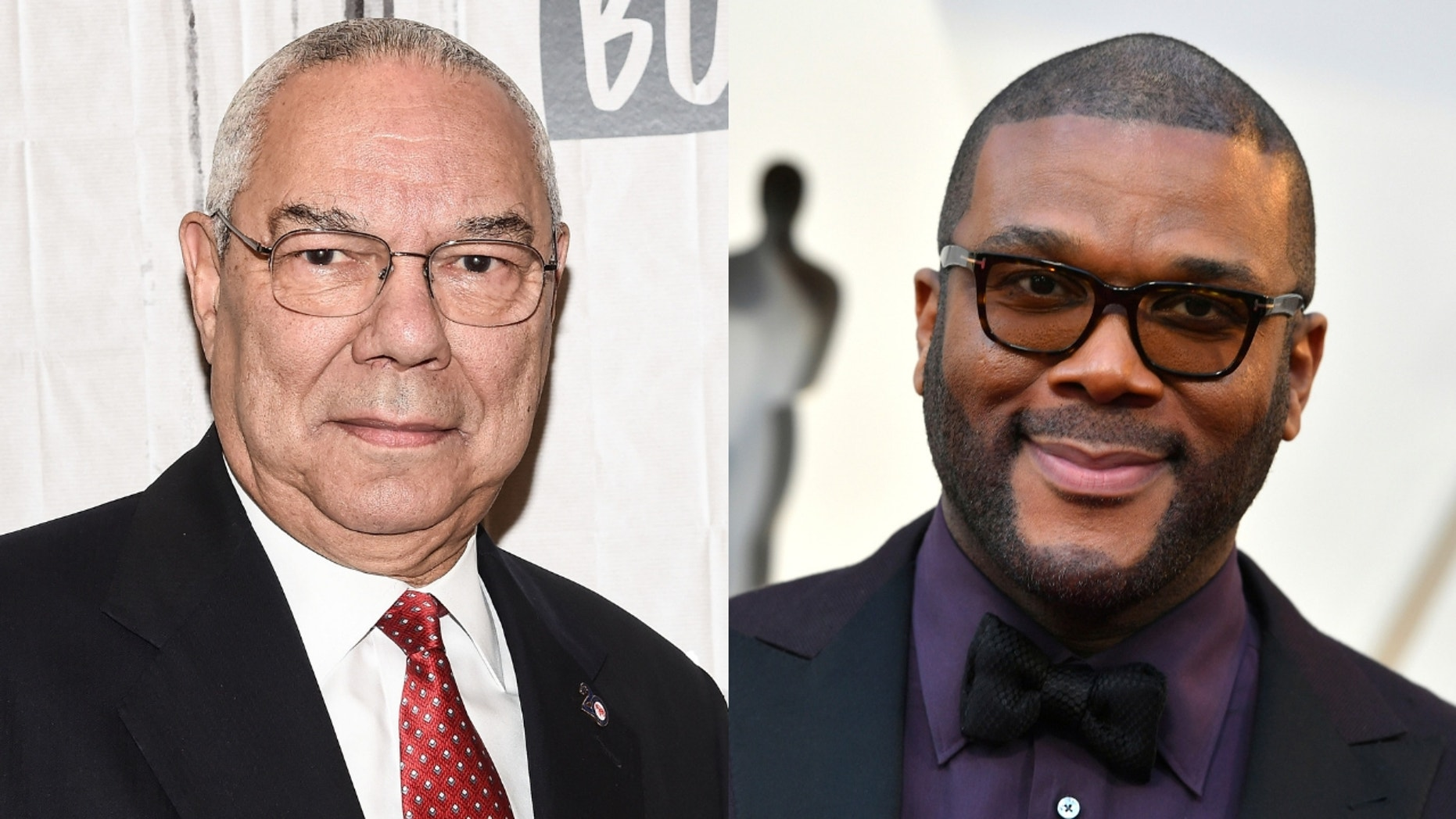 """Tyler Perry said Colin Powell gave him his blessing to play him in """"Vice."""""""