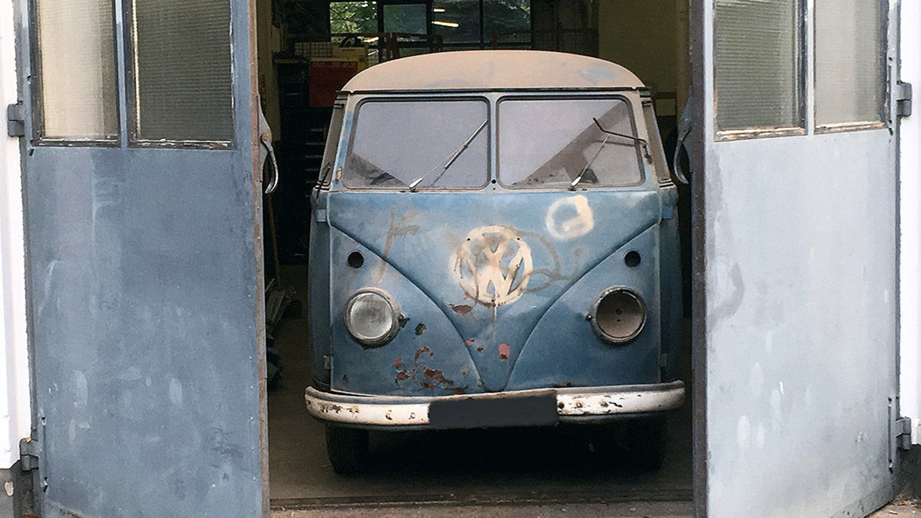 First VW police speed camera van discovered in garage ...