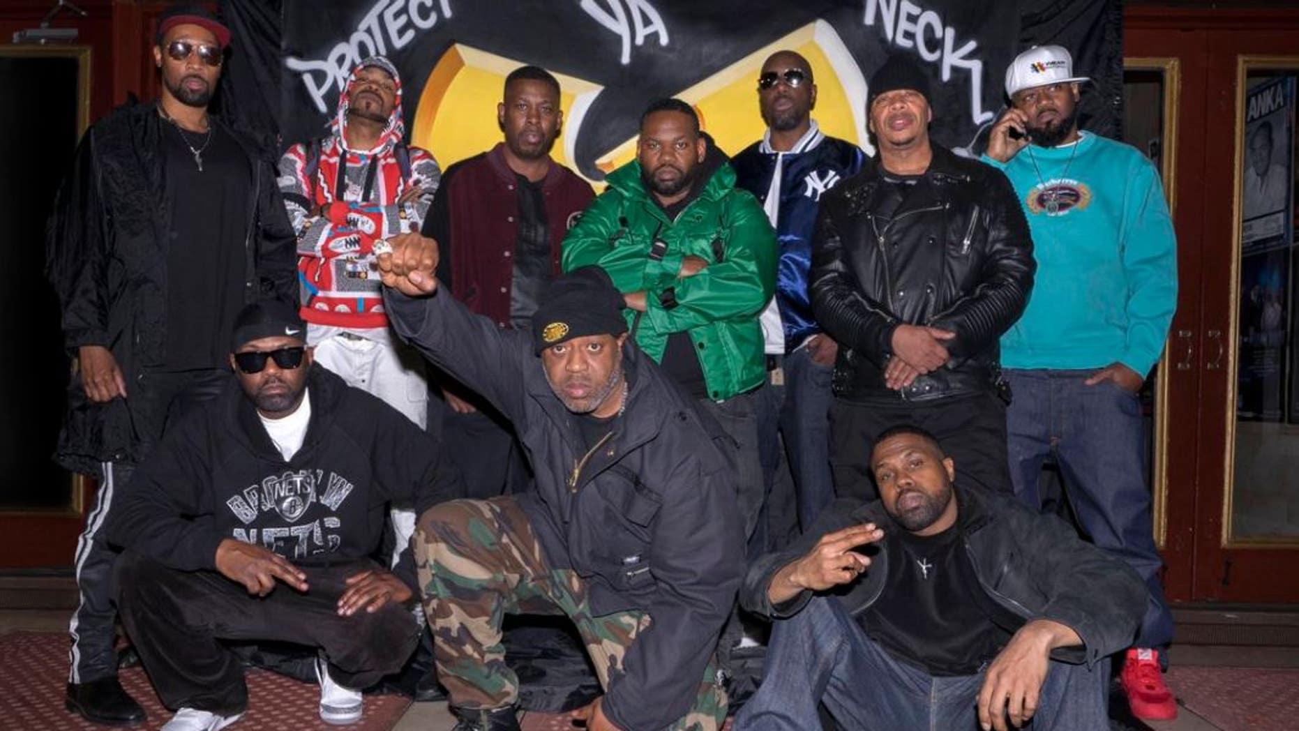Wu-Tang Clan will headline Nashville's Ryman Auditorium on June 9. (Twitter)