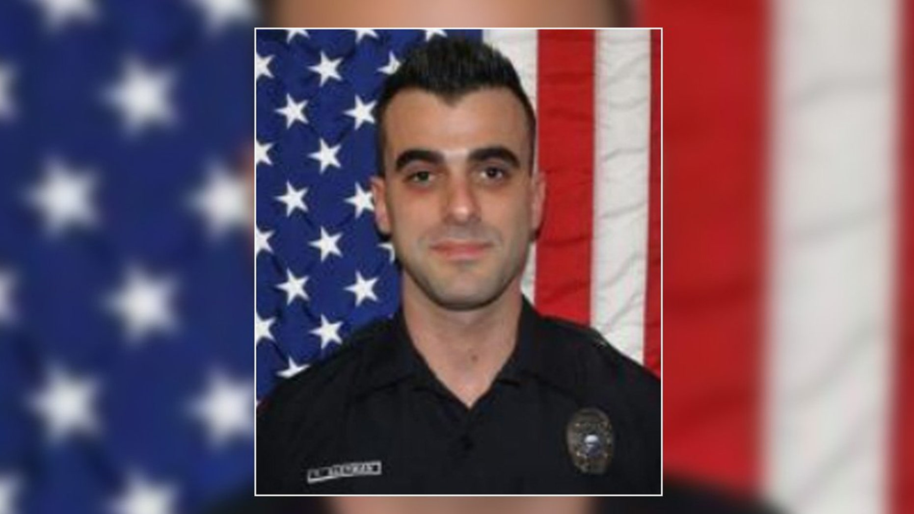 Hallandale Beach cop Yan Kleyman was arrested after department brass accused him of selling two police-issued weapons to a pawn shop.