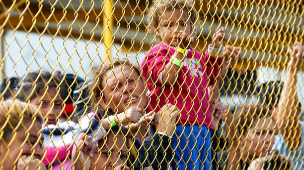 Central American immigrant families. (AP)