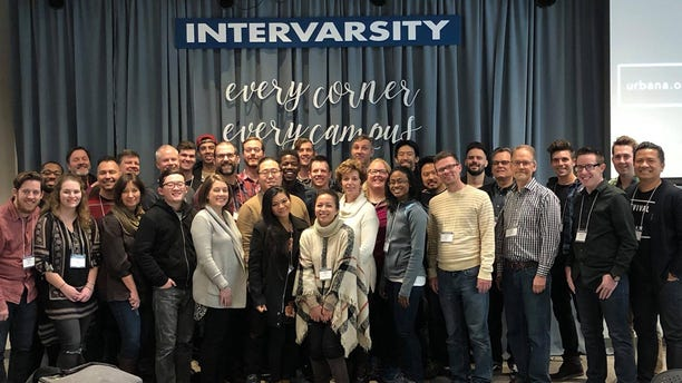 A group of national collegiate and church ministry leaders meet in preparation for the big event on the last Thursday in February.