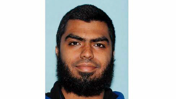 FILE - This undated file photo provided by the Maricopa County Sheriff's Office shows Ismail Hamed, who authorities say threw rocks at a sheriff's sergeant in metro Phoenix six weeks ago and wielded a knife toward the officer. A court record that authorities were forced to release this week alleges Hamed asked the sergeant to shoot him during the violent encounter. Hamed, who was shot by the sergeant, has pleaded not guilty to assault and terrorism charges. (Maricopa County Sheriff's Office via AP, File)