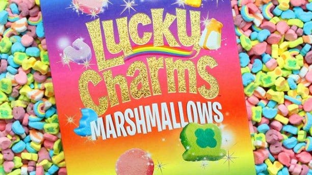 Lucky Charms marshmallows inspired this new beer.