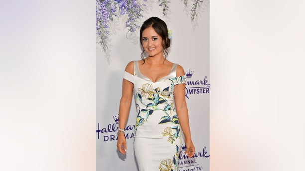 Danica McKellar attends the 2018 Hallmark Channel Summer TCA at Private Residence on July 26, 2018, in Beverly Hills, California.