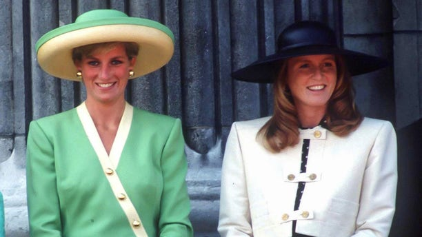 Sarah Ferguson said there was never really a rivalry between her and Princess Diana.