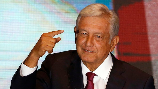 "President Andres Manuel Lopez Obrador has launched a campaign aimed at persuading people to not break the law. Its slogan is: ""We're all going to behave."""