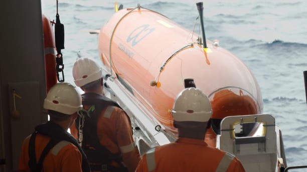 File photo - One of the Weddell Sea Expedition AUVs.