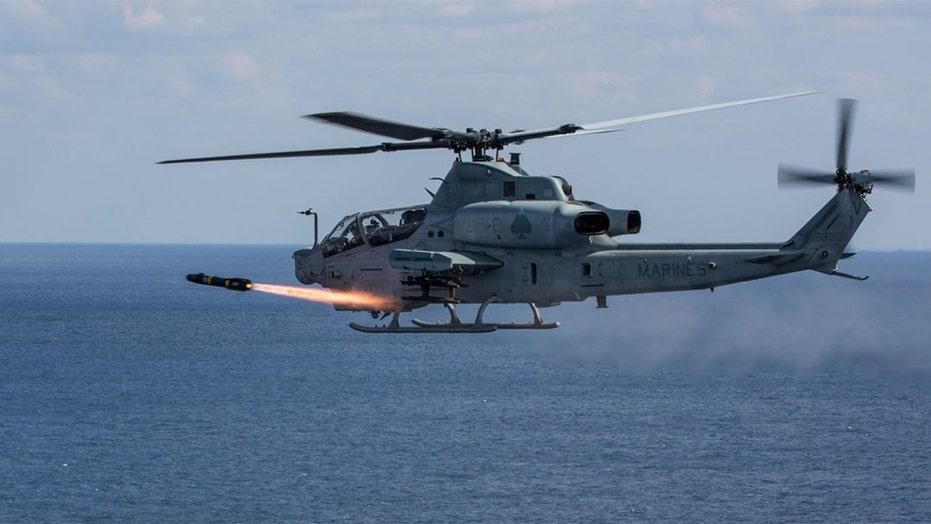 Two marine corps pilots killed in helicopter crash near Yuma, Arizona