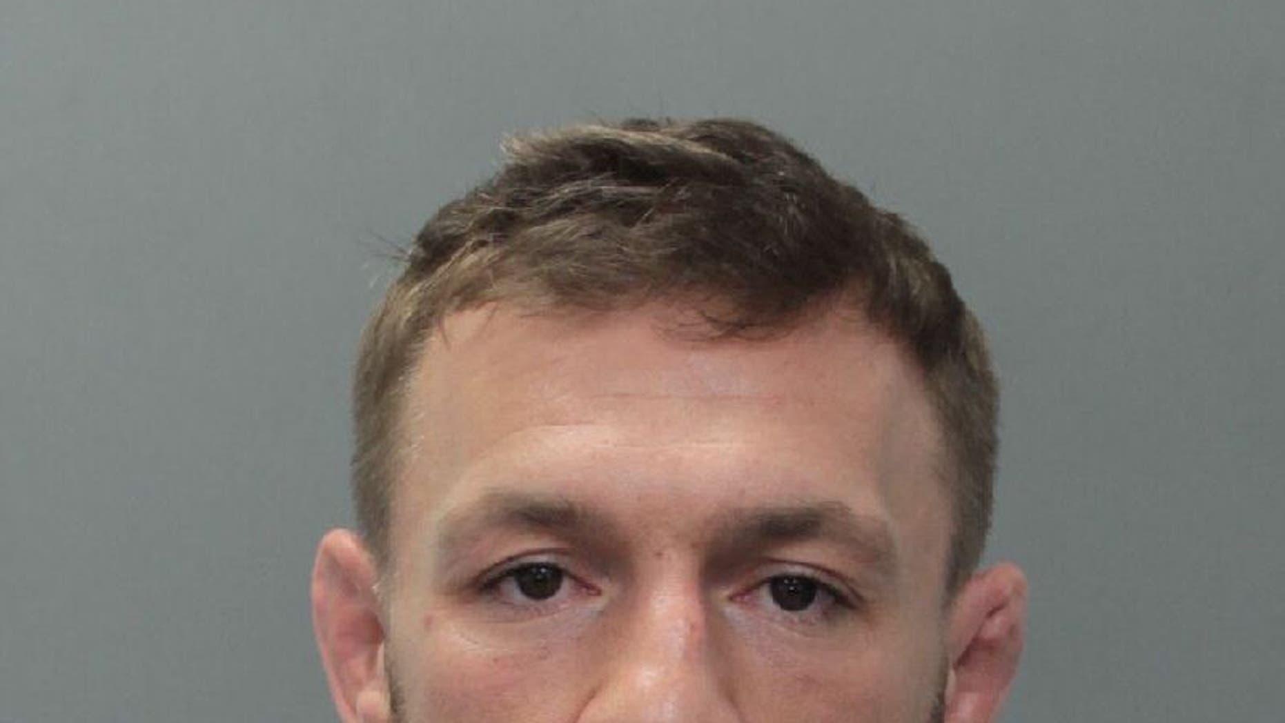 Conor McGregor, 30, was taken into custody in Miami Beach, Florida on Monday, online records show.