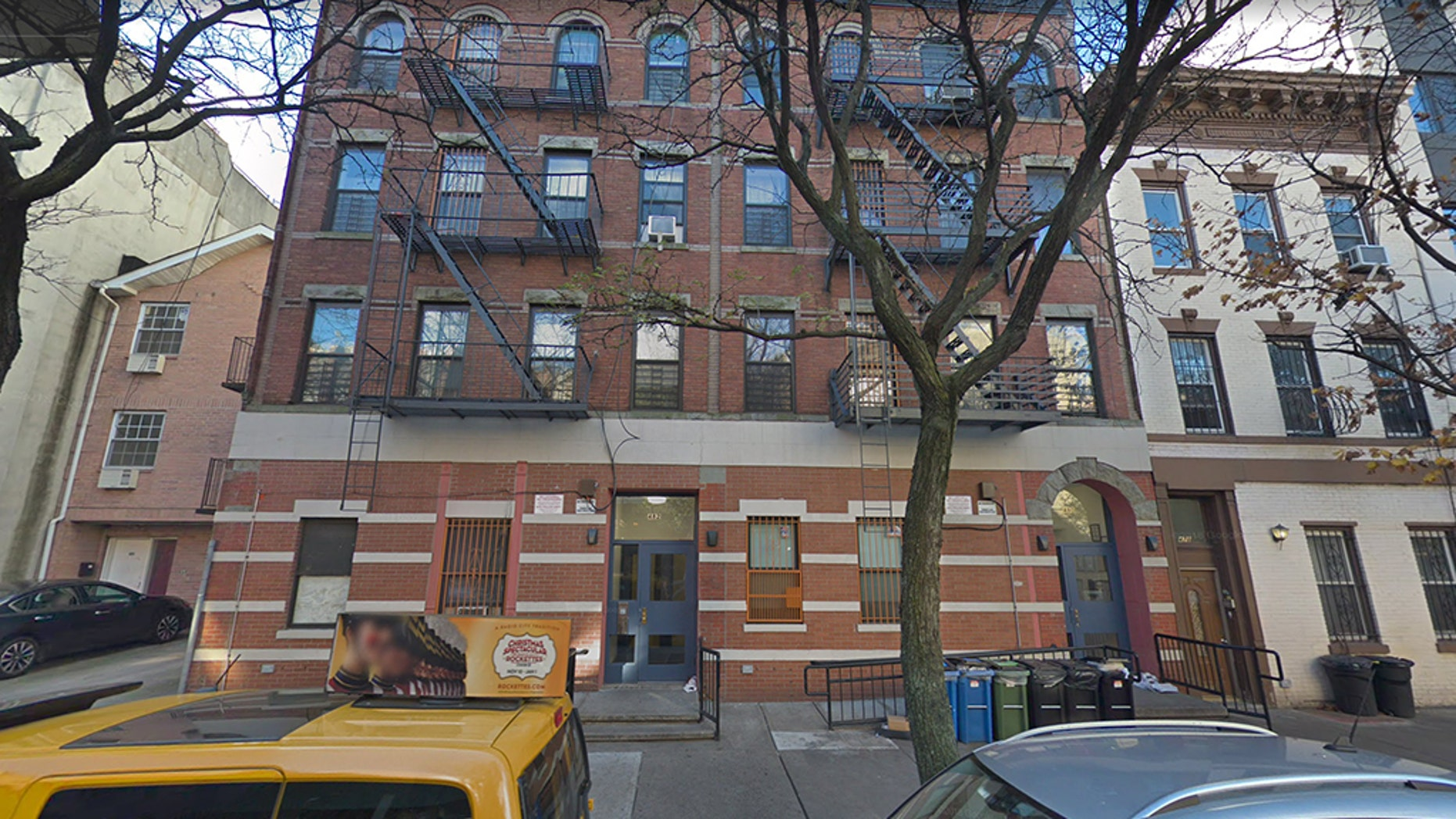 Anthony Bradford of the Bedford–Stuyvesant section of Brooklyn pleaded guilty to the manslaughter of Laverne Spencer inside her home on July 2, 2017. (Google Street View)