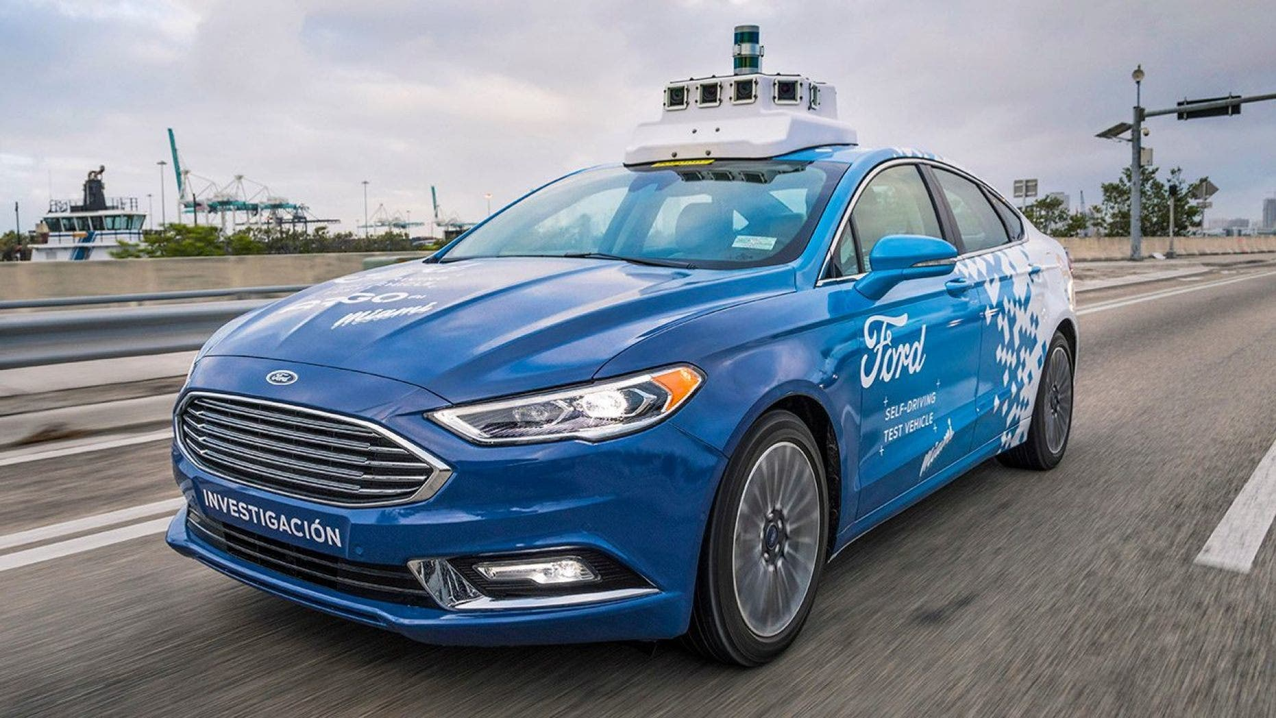 Ford's Argo AI subsidiary has been testing Fusion hybrids equipped with self-driving technology.