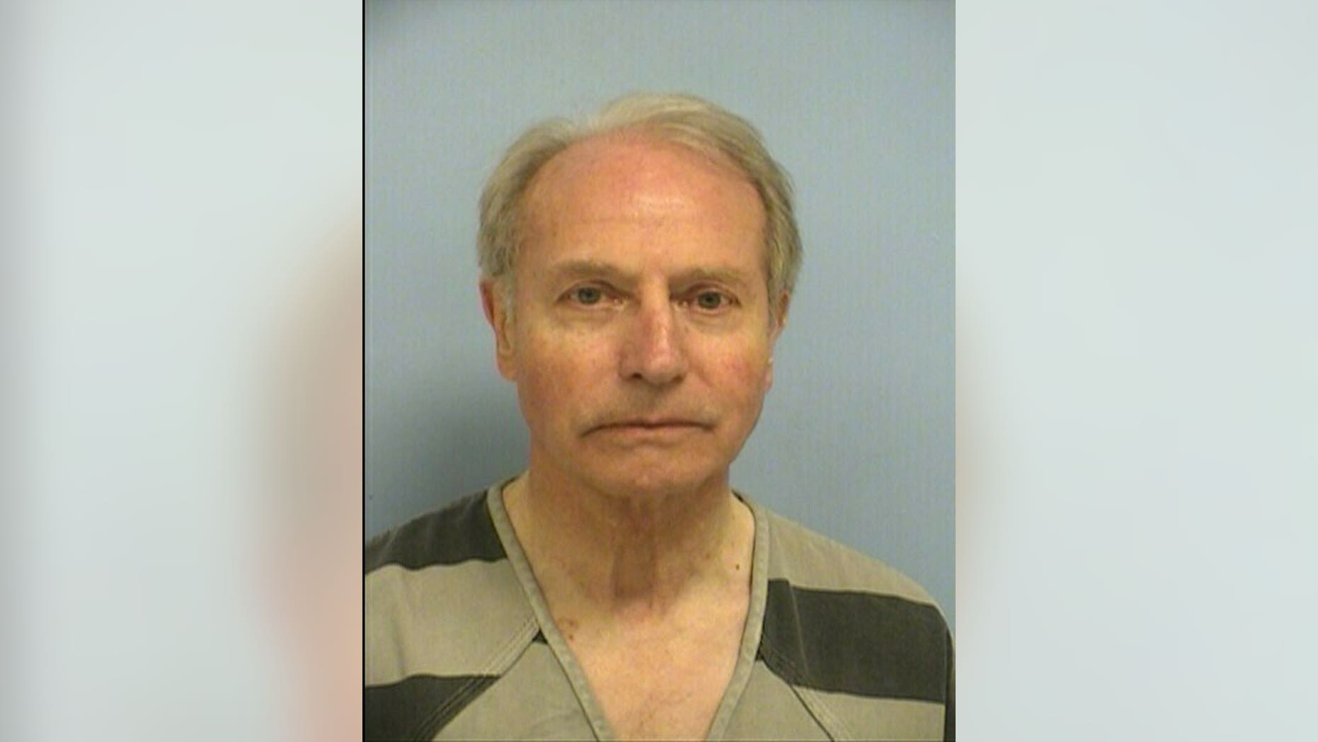 This photo provided by the Austin Police Department shows Gerold Langsch. The Rev. Langsch, of Austin, was arrested Thursday, March 14, 2019, and charged with assault by contact stemming from the October encounter. The 75-year-old priest is free on $15,000 bond. If convicted, he could be sentenced to a year in jail and fined up to $4,000.