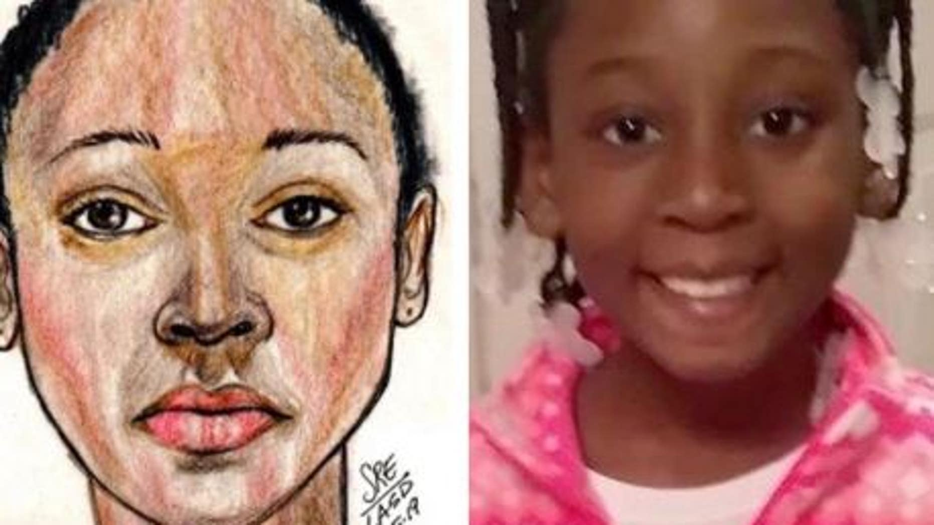 9-year-old girl found dead in duffel bag identified