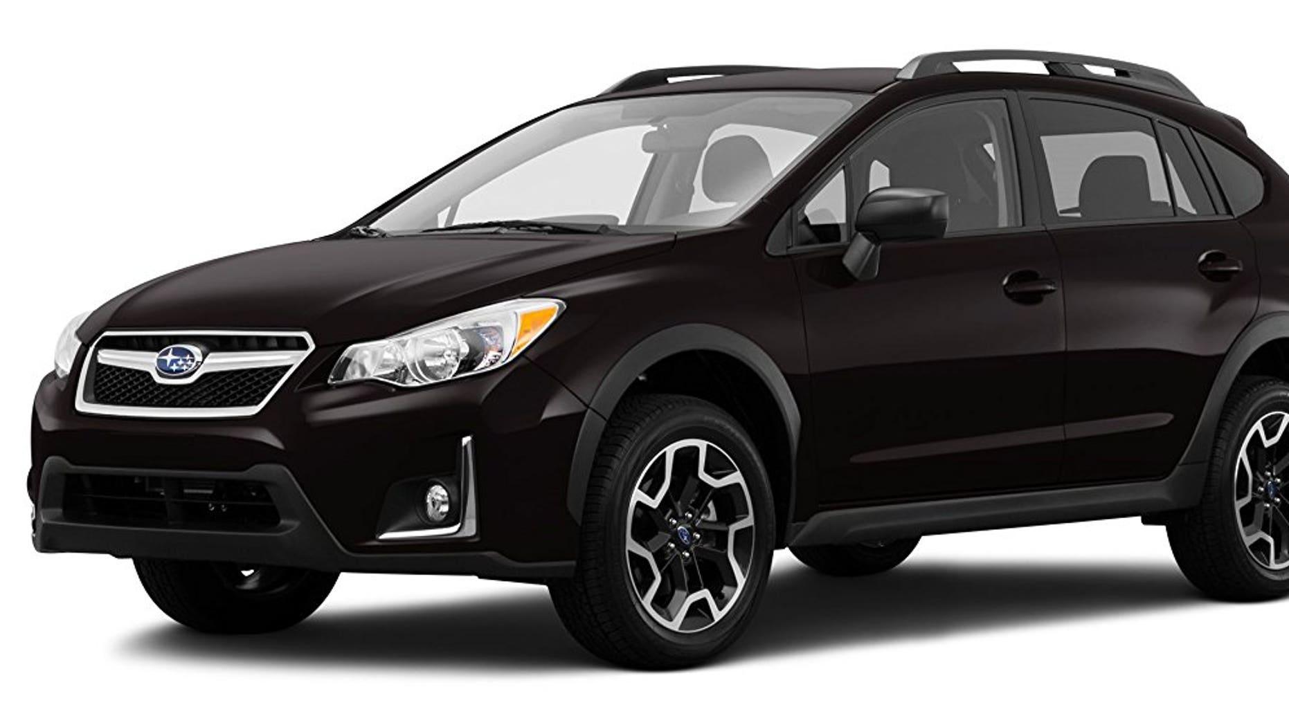 The 2017 Subaru Crosstrek is one of the affected models.
