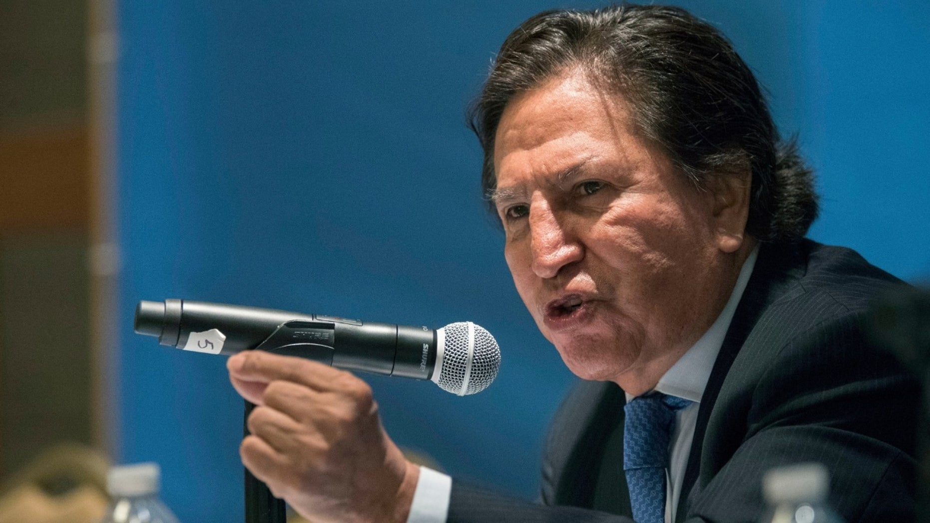 Former Peruvian President Alejandro Toledo, who is wanted in his native country in connection with Latin America's biggest graft scandal, was arrested in California on suspicion of public intoxication and spent the night in jail before being released Monday, authorities said.