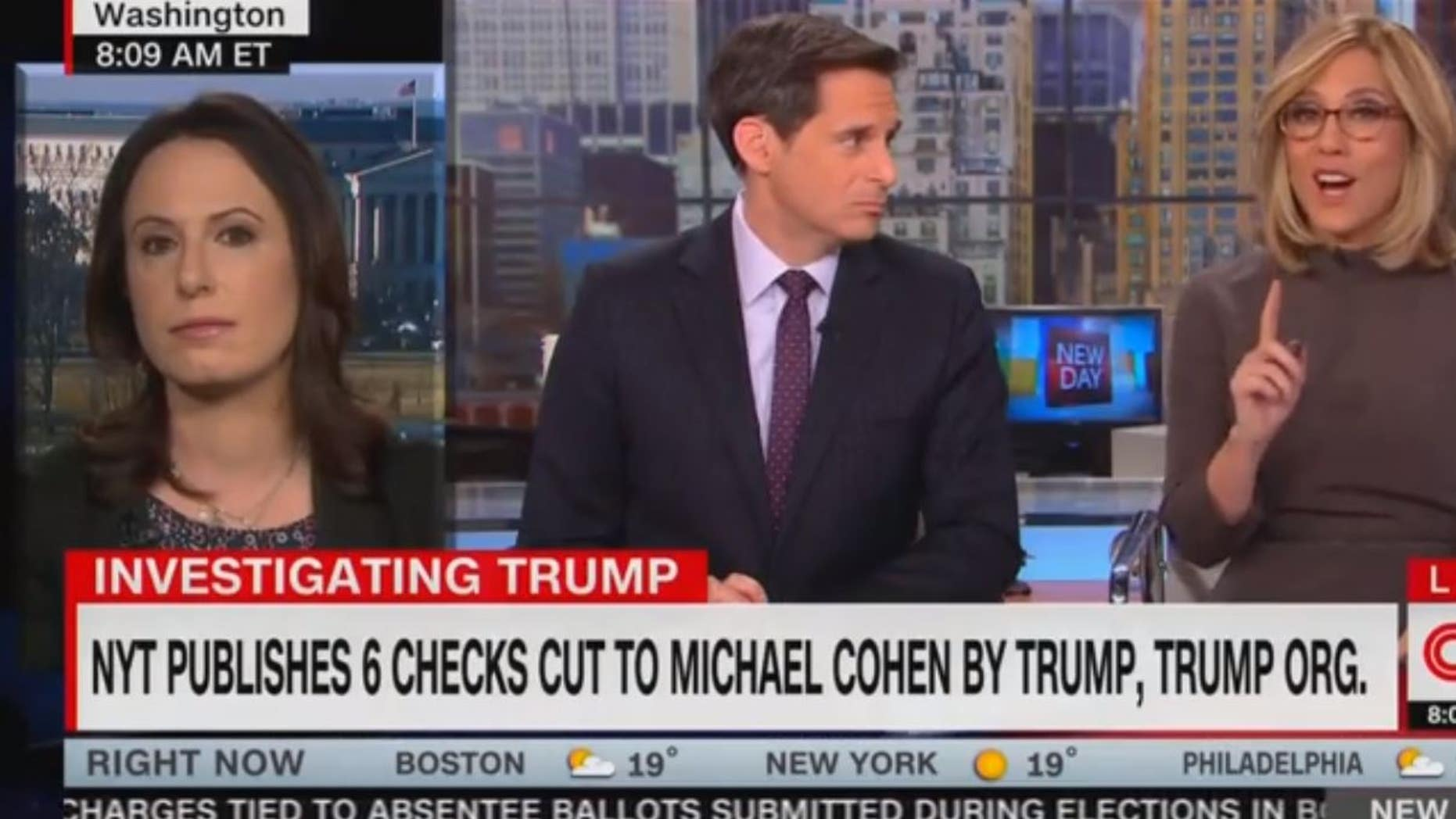 New York Times reporter clashes with CNN anchor over Trump