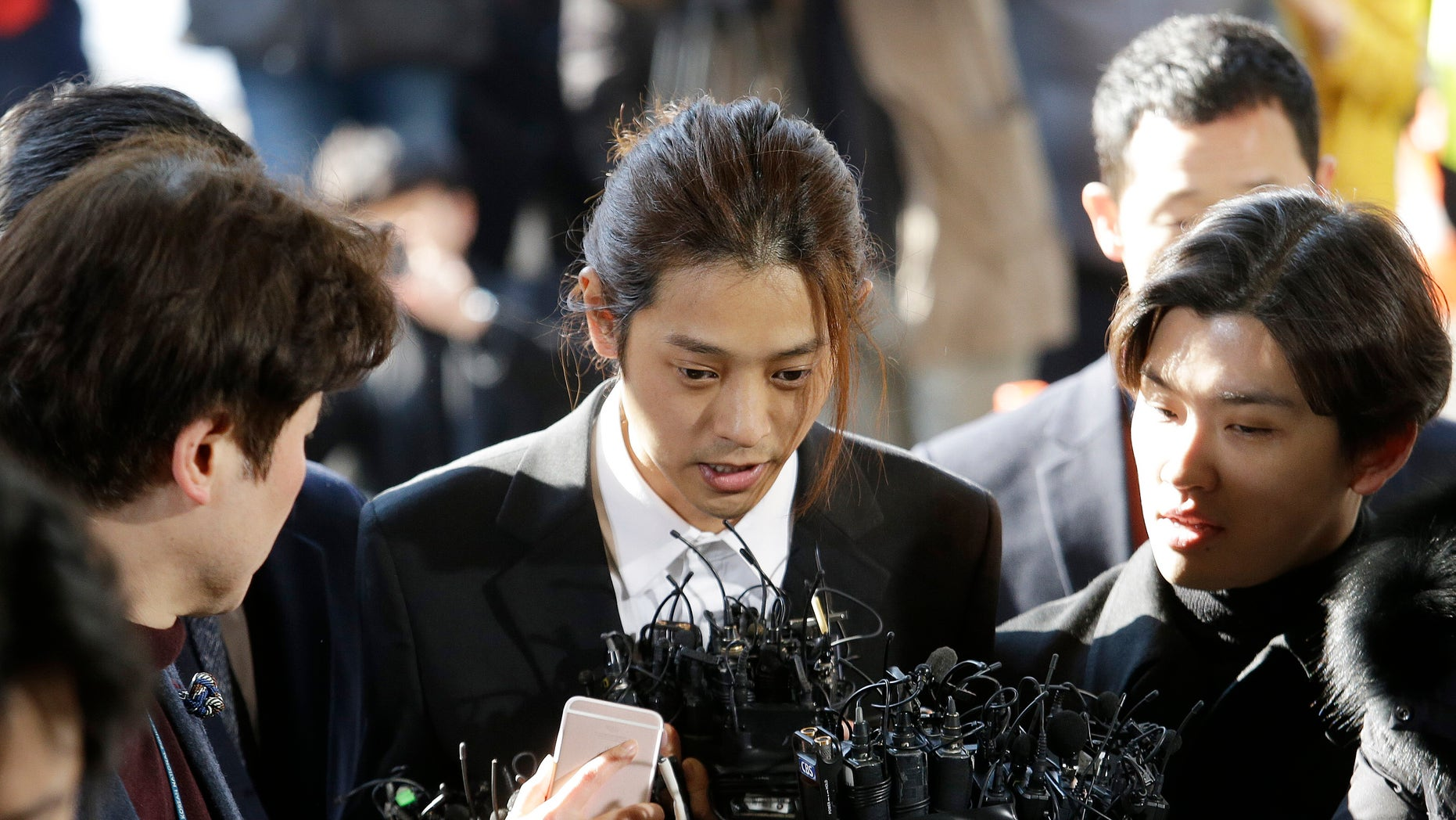 K-pop singer Jung Joon-young booked by police, quits showbiz