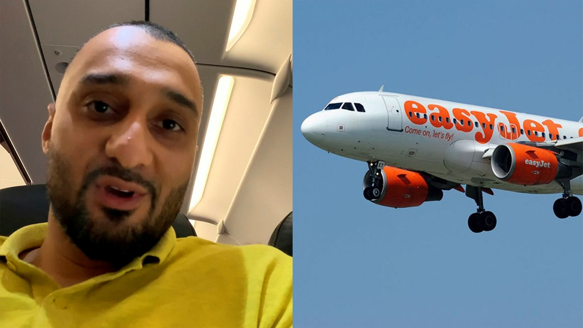 Adil Kayani says that the EasyJet's apologies and offer of $660 are not sufficient amends for the upsetting ordeal.