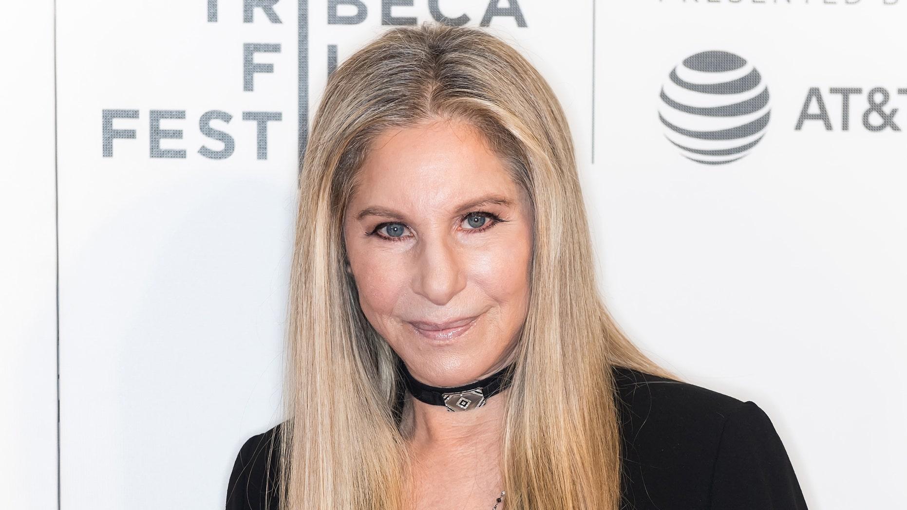 Barbra Streisand visits Tribeca Talks: Storyteller on April 29, 2017 in New York City. (Photo by Gilbert Carrasquillo / FilmMagic)