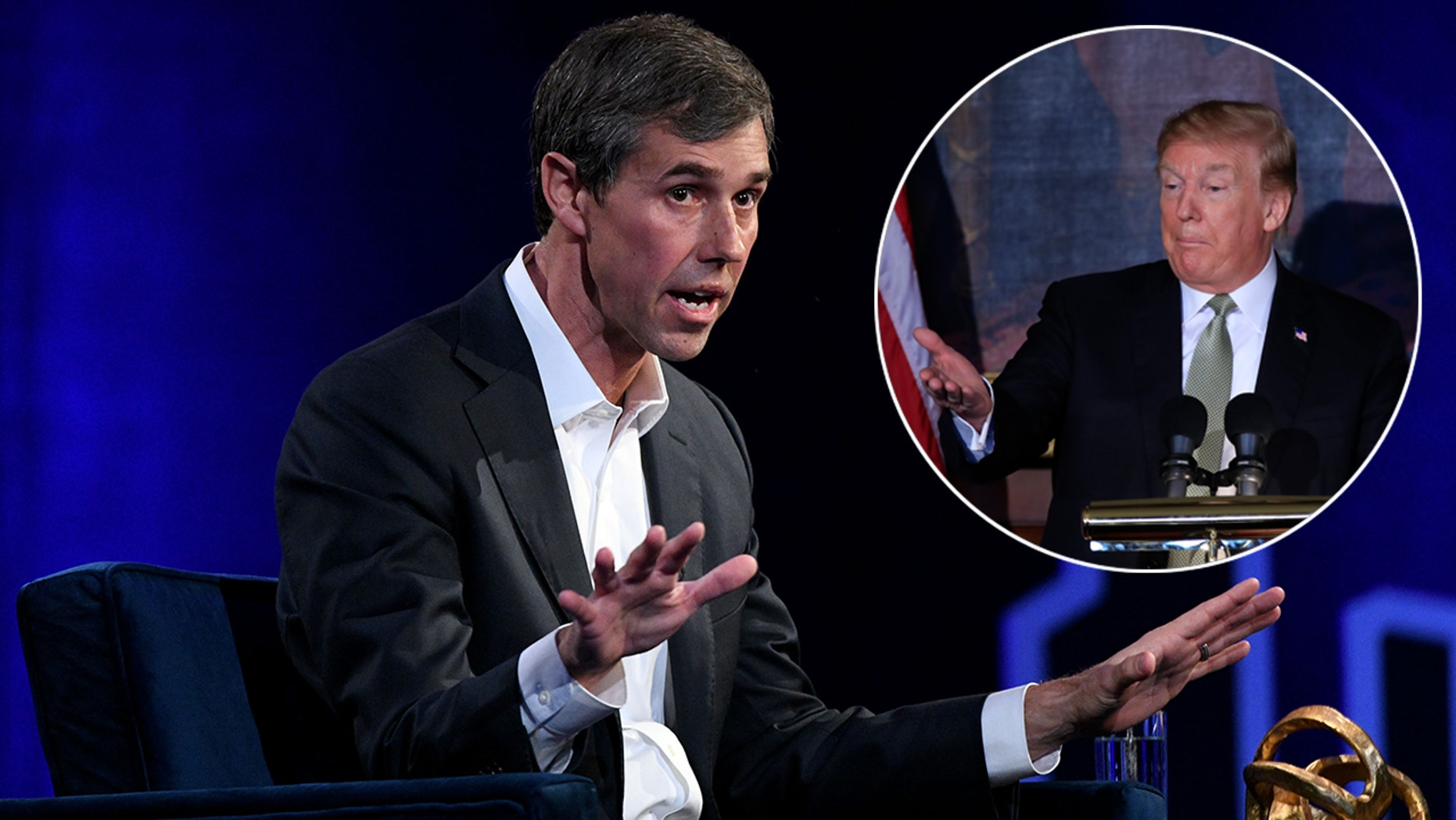"Democrat 2020 hopeful Beto O'Rourke said it could be the ""end of our democracy"" if President Trump is not impeached. (Photo by Bryan Bedder/Getty Images for THR)"