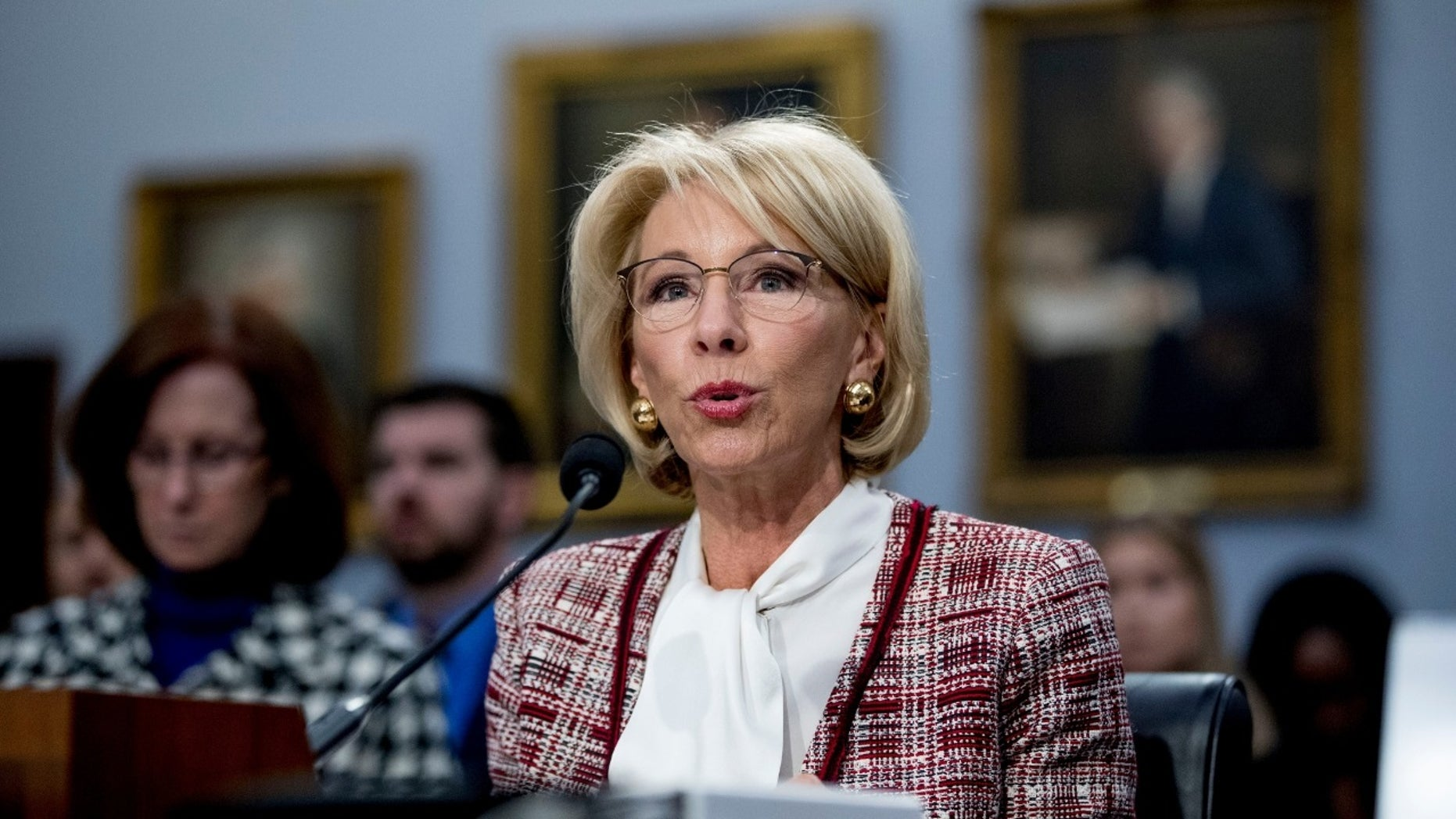 ESPN personalities took to Twitter to criticize Education Secretary Betsy DeVos after her budget proposal would cut funding for the Special Olympics.