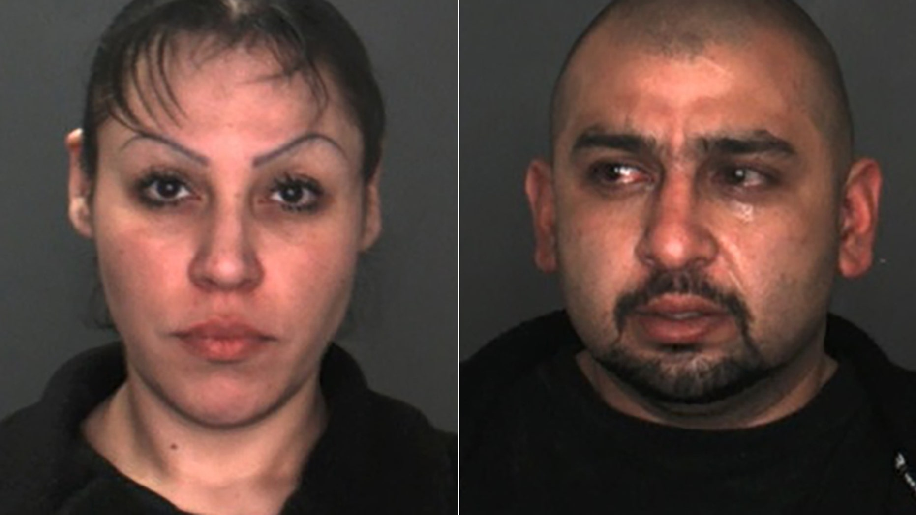 Miriam Sandoval Montana and Richard Rojo were arrested after their daughter died last week.