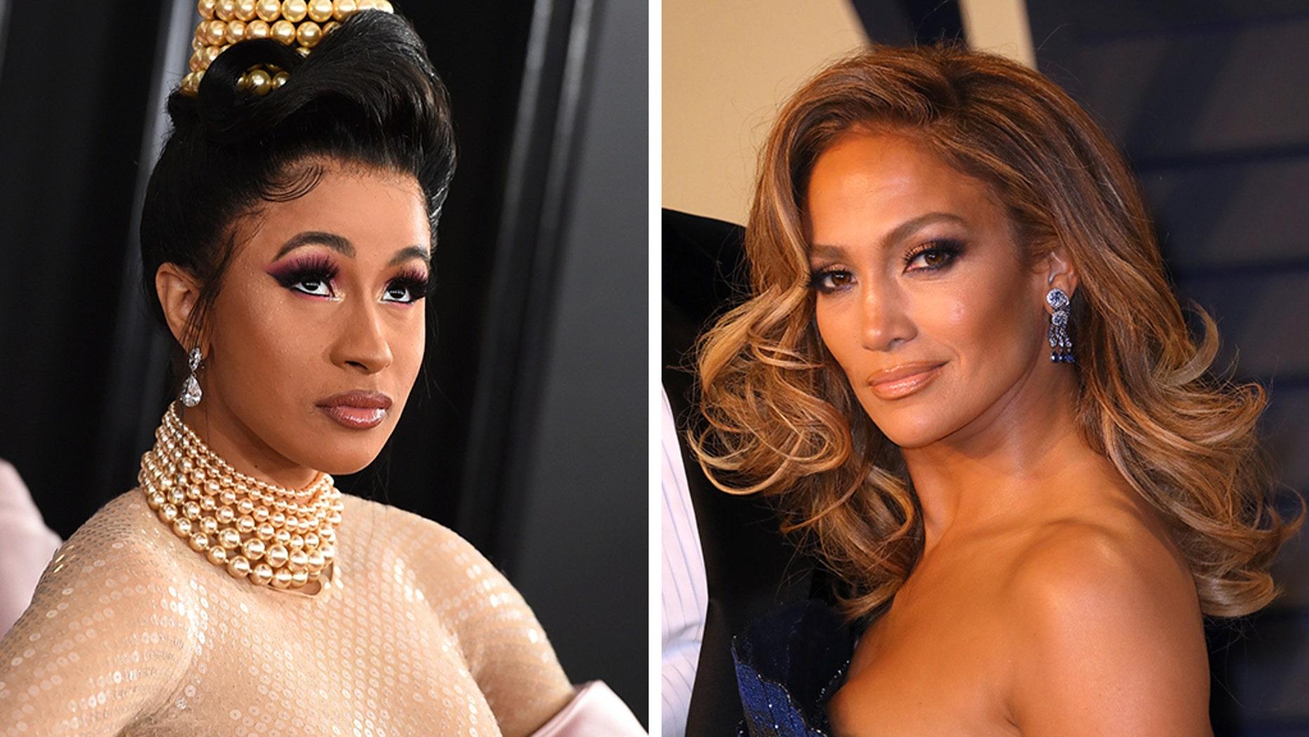Cardi B is reportedly set to make her underline film entrance as a stripper alongside Jennifer Lopez in a arriving film Hustlers.