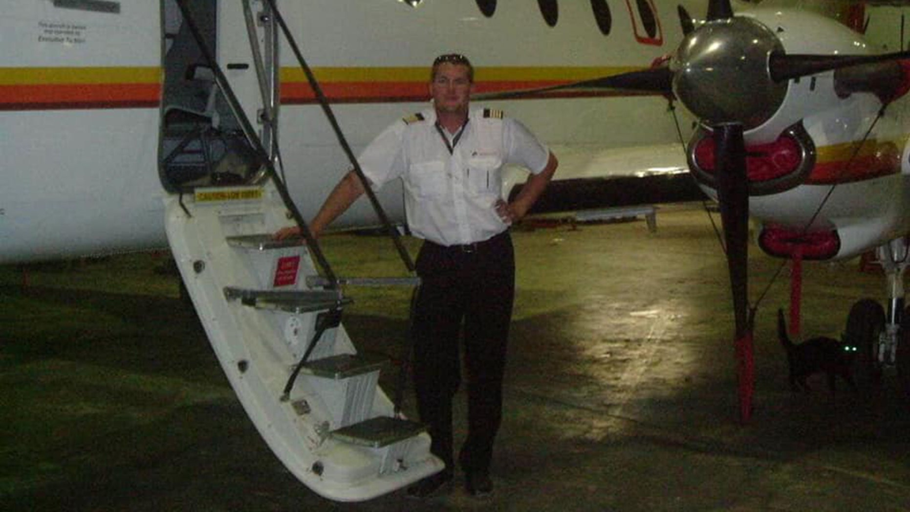 Pilot Charl Viljoen died after deliberatelycrashing a plane into a building hosting a private event on Saturday, according to local reports.