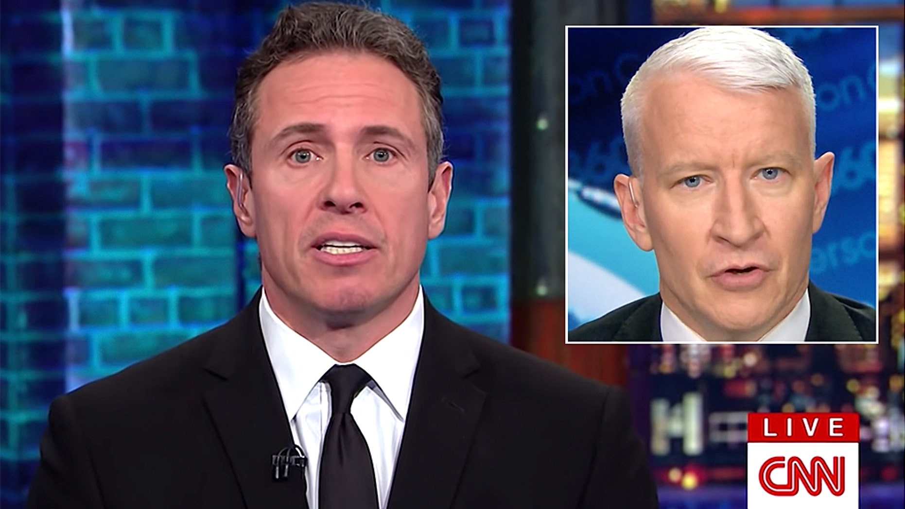 CNN hosts Chris Cuomo and Anderson Cooper offer their option more than typical news anchors, according to media critics.