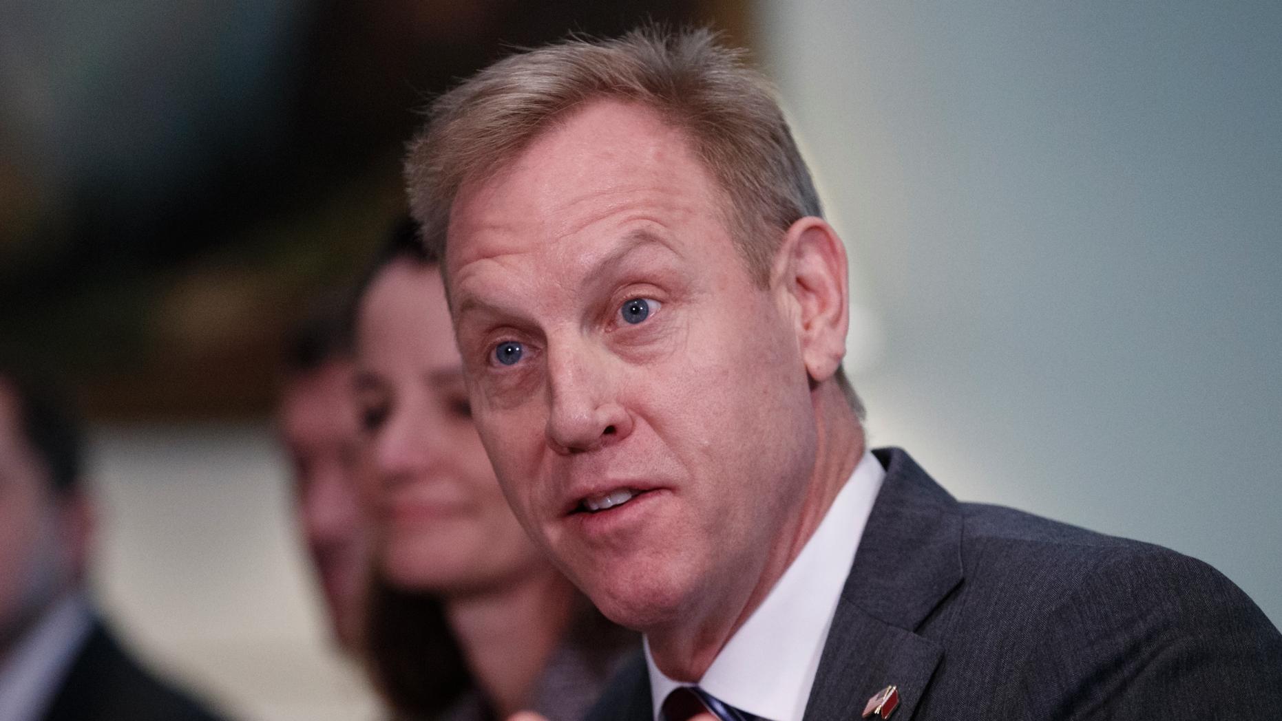 Acting Secretary of Defense Patrick Shanahan. (AP Photo/Carolyn Kaster)