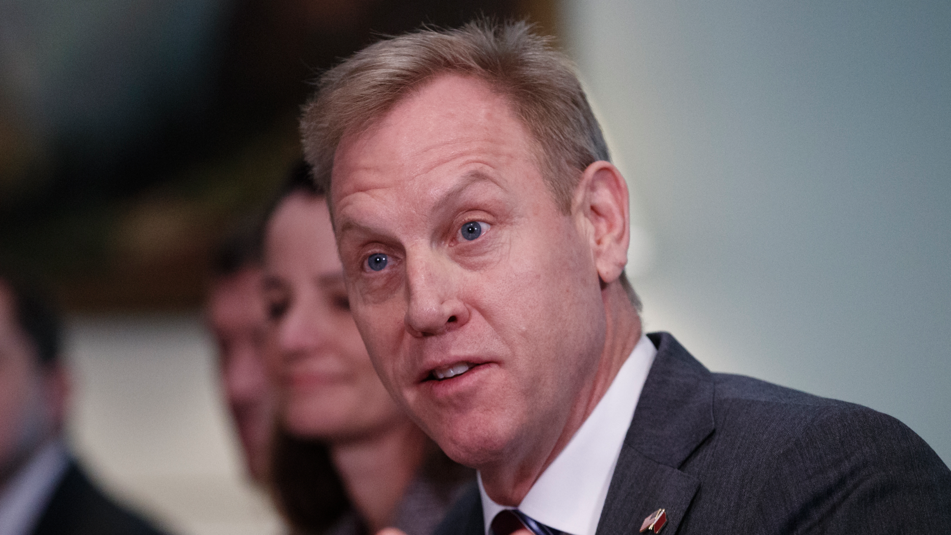 Acting Secretary of Defense Patrick Shanahan. (AP Photo/Carolyn Kaster)
