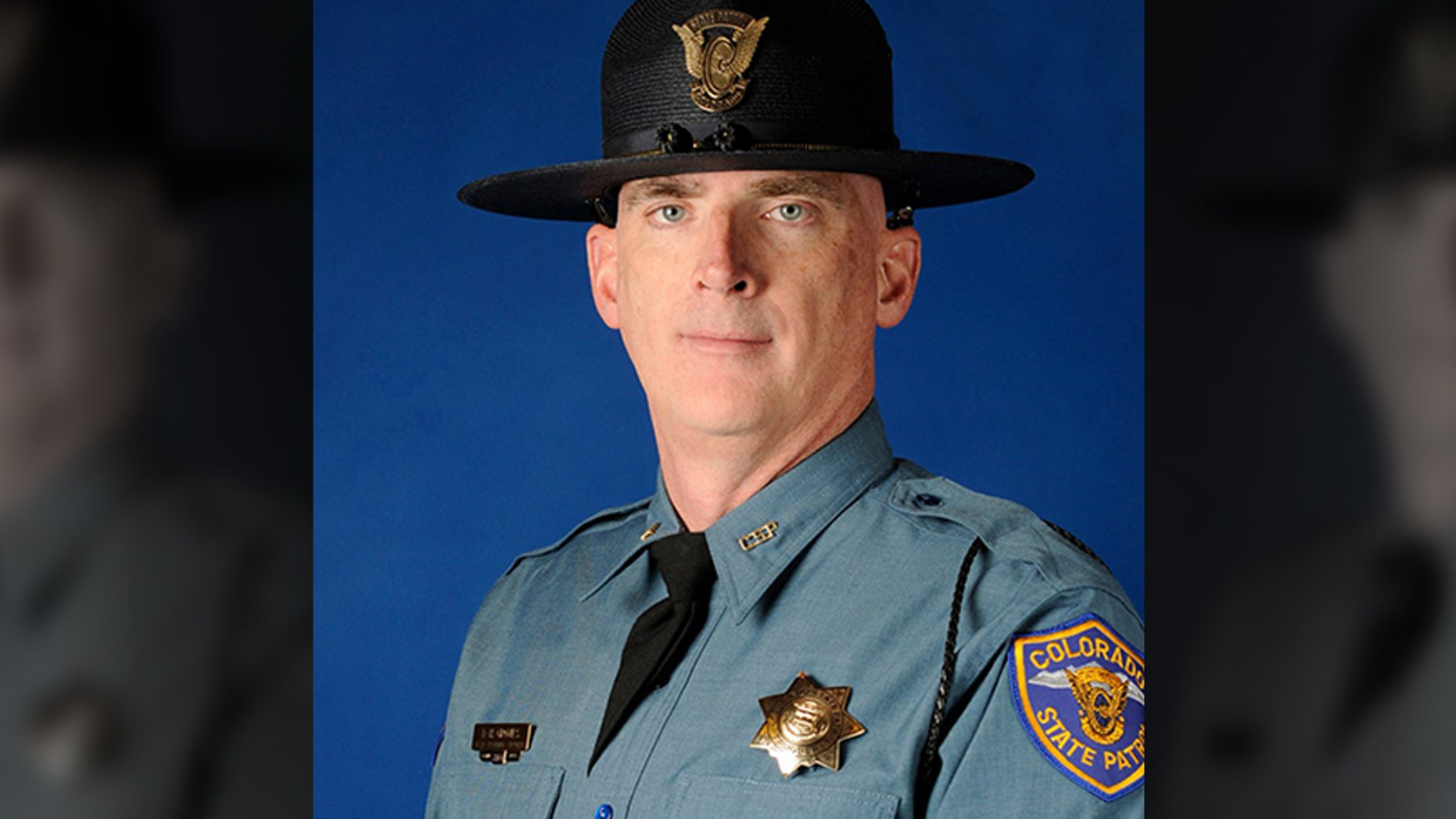 Cpl. Daniel Groves, 52, was killed on Wednesday when he was struck by a vehicle on Interstate76, officials said.