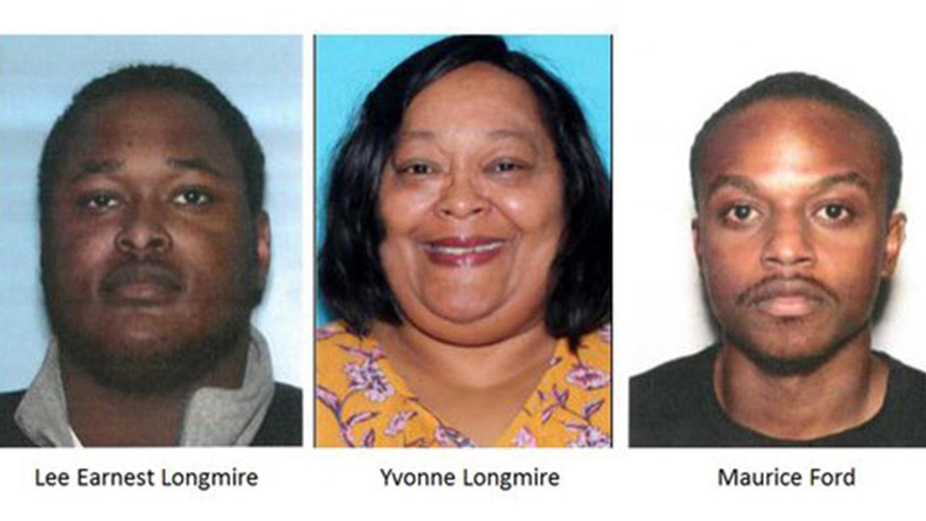 Lee Earnest Longmire, 20, is blank while his mom Yvonne Longmire and 23-year-old Marcus Ford are indicted of perplexing to fool a justice into giving them entrance to his $200,000 trust fund.