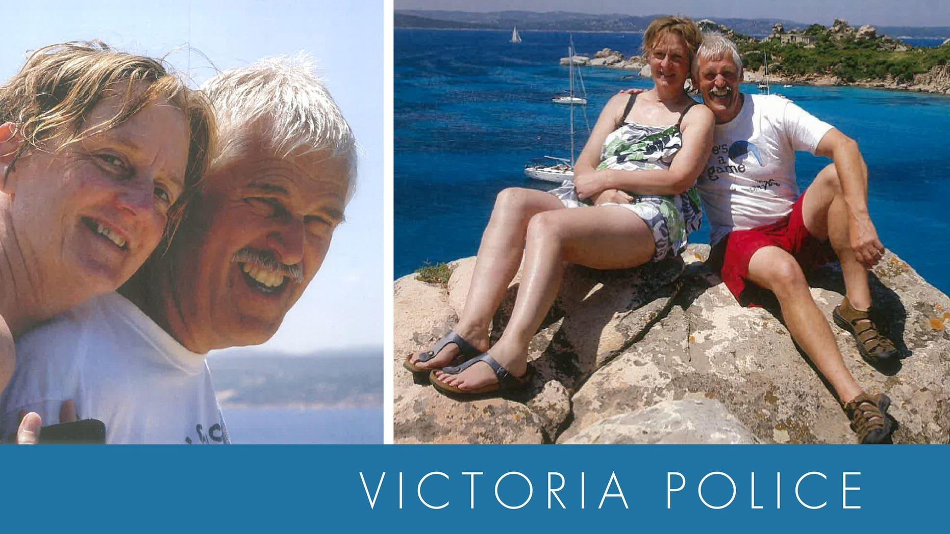 Trevor Salvado, 60, and Jacinta Bohan, 58, spent four days lost on Mount Buffalo.