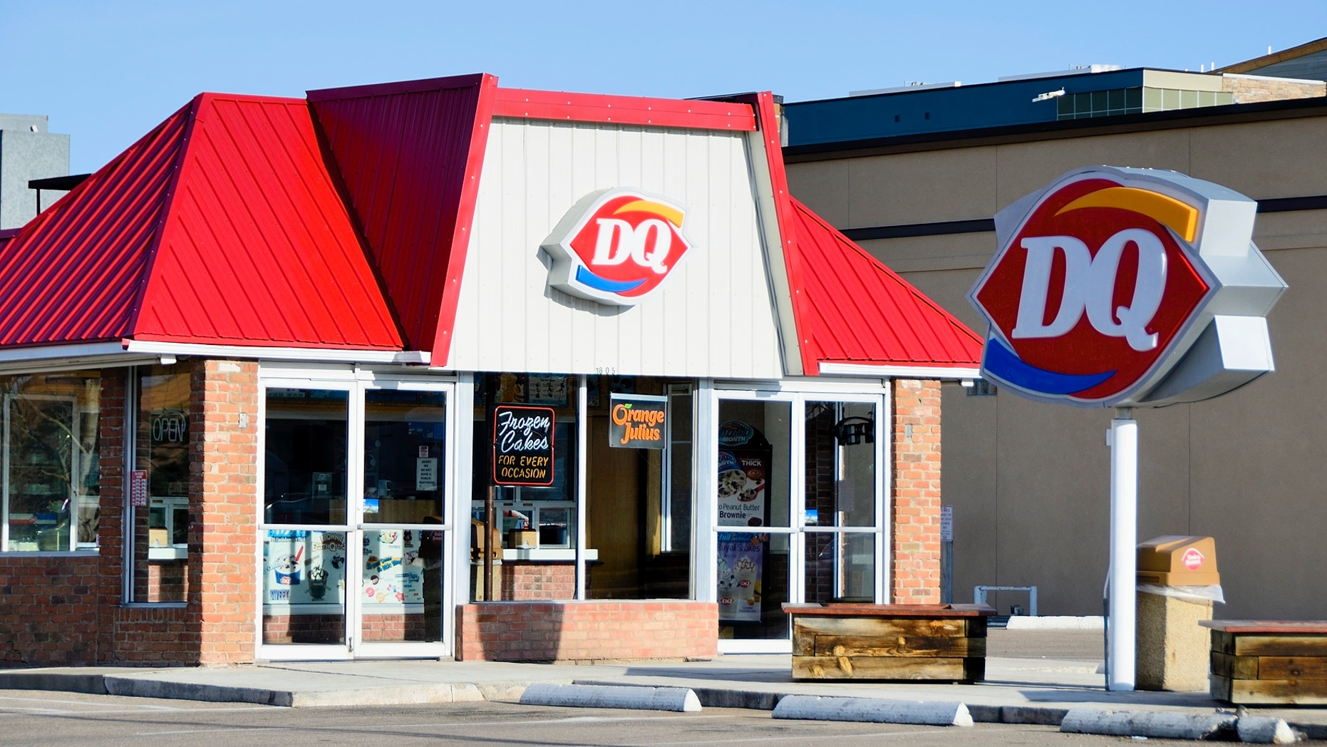 """This Wednesday, participating locations within her majesty's queendom will be handing out free small vanilla soft-serve cones as part of Dairy Queen's annual """"Free Cone Day"""" promotion."""