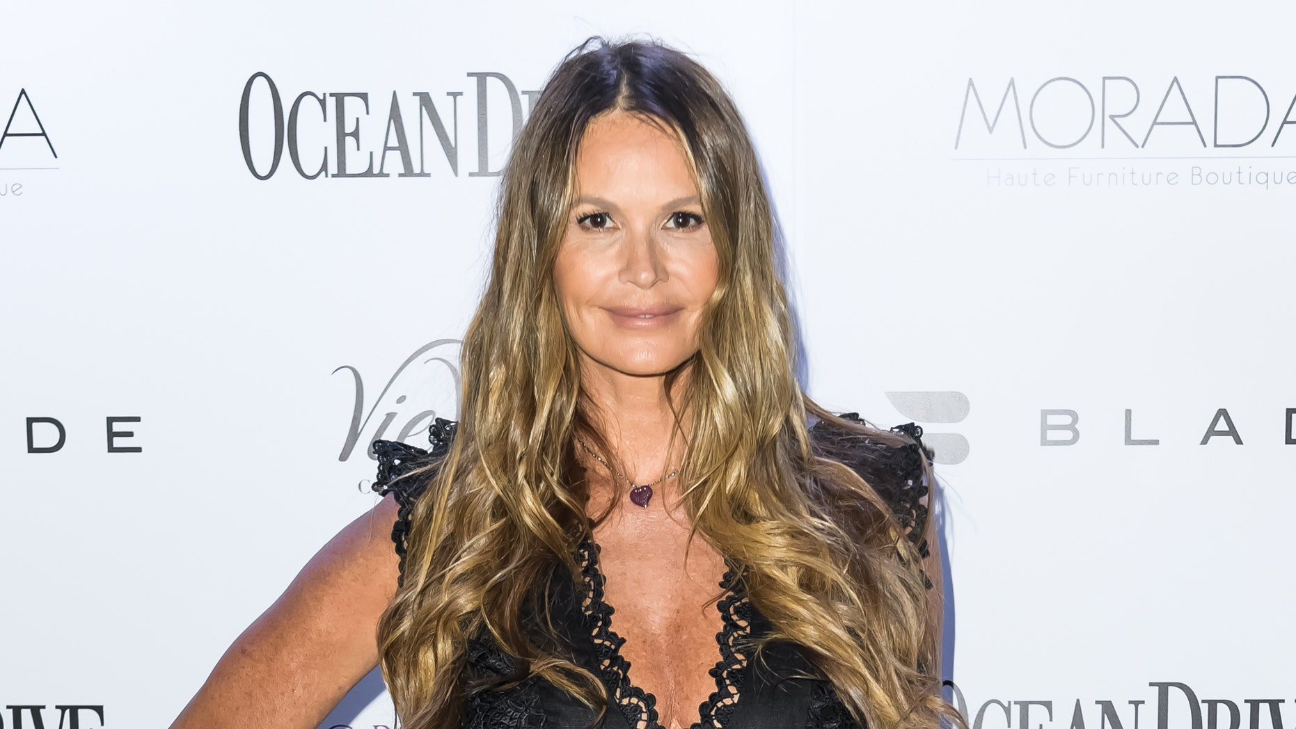 Elle Macpherson was recently spotted hard at work on a photo shoot in Sydney, Australia.