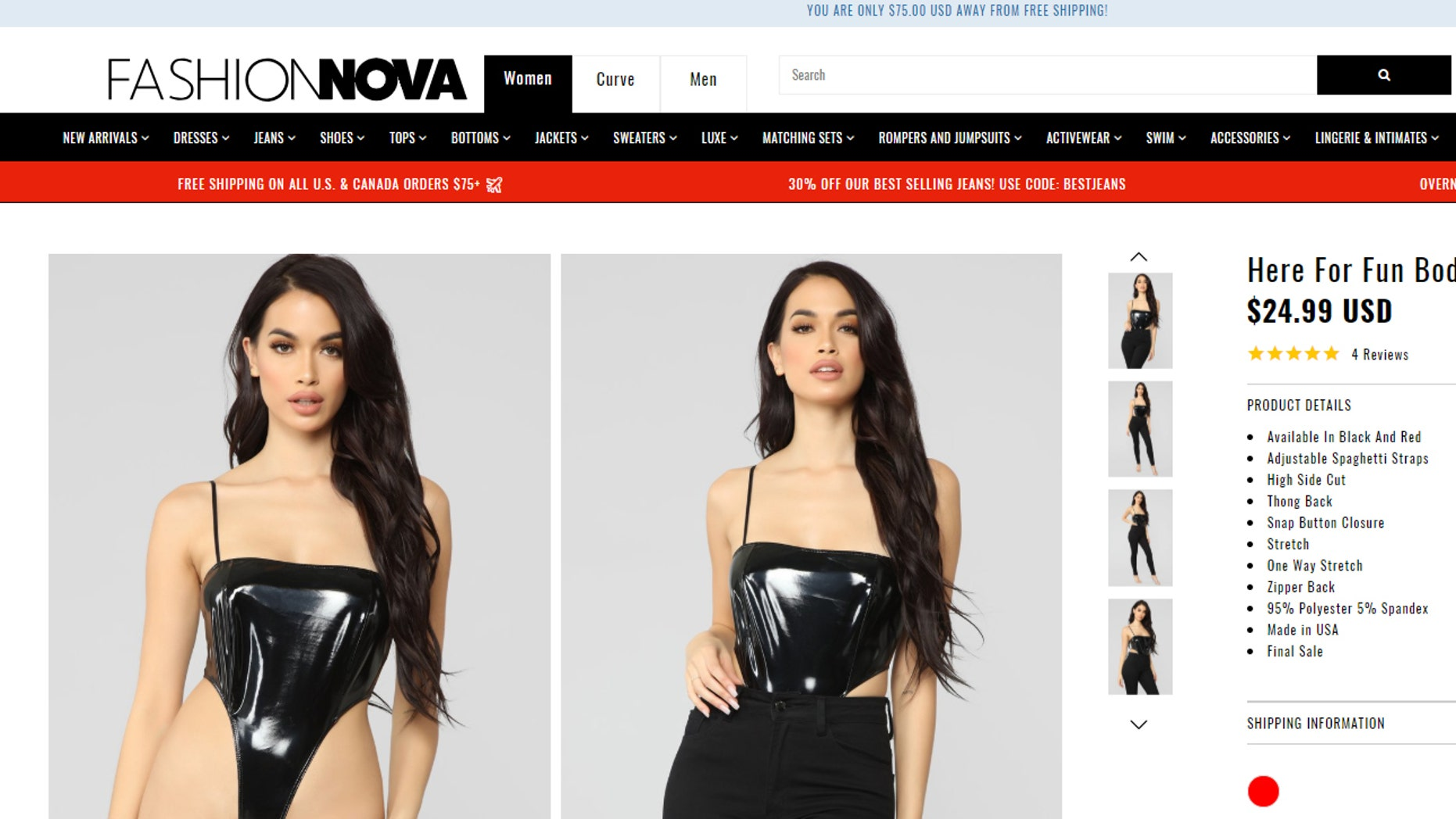 The online fashion brand, infamous for introducing the Internet to such styles as cut-out pants and lace-up jeans, has debuted yet another controversial look.
