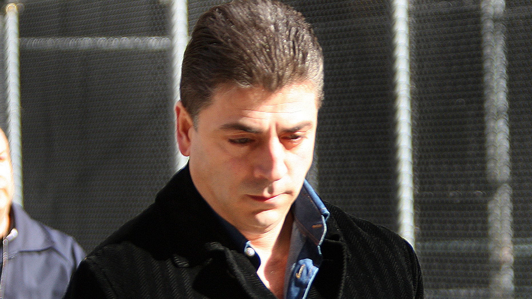"Reputed Gambino crime family boss Francesco ""Franky Boy"" Cali was shot and killed Wednesday night outside his home on Staten Island, reports said. (Getty)"