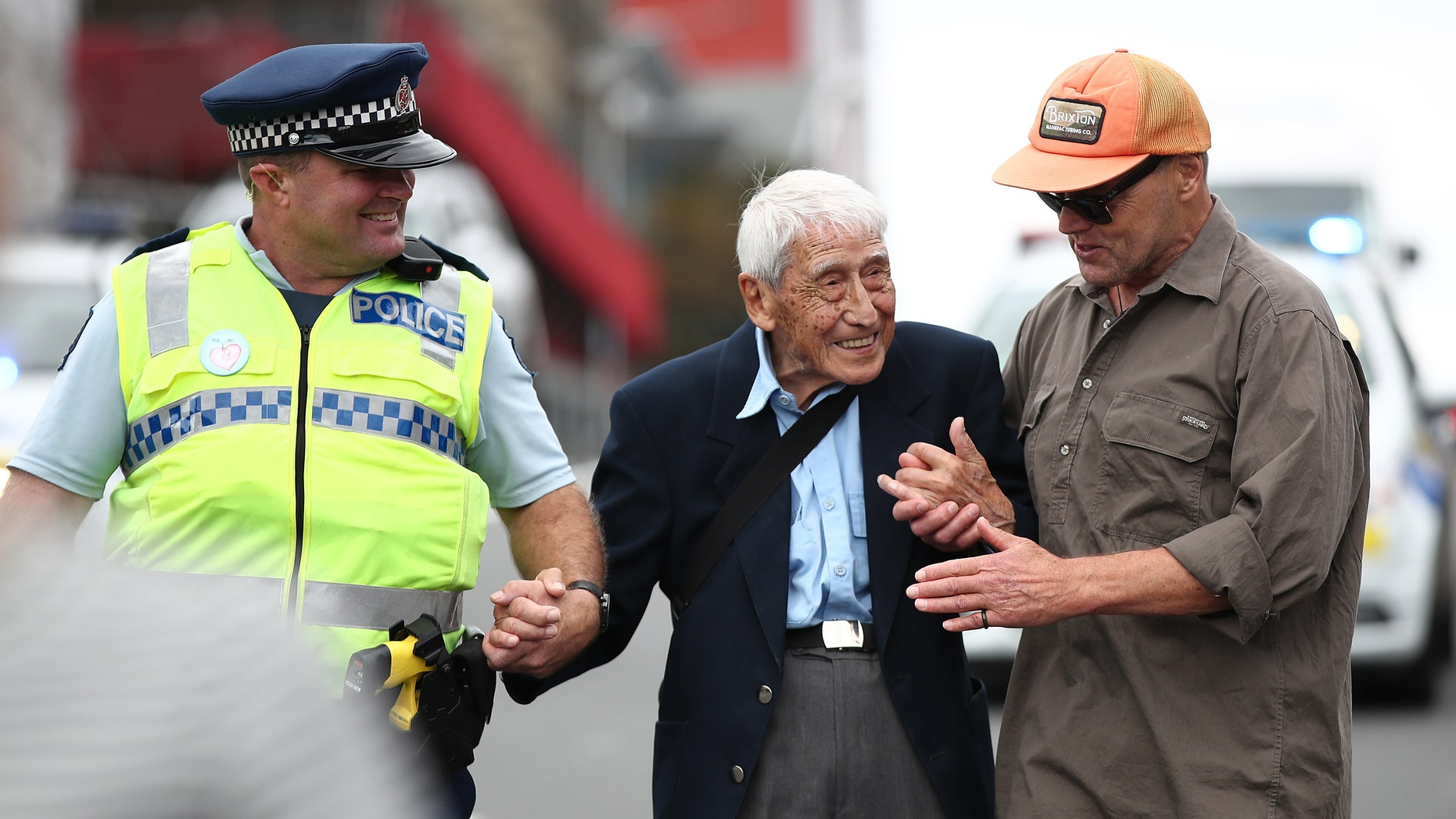 "John Sato, 95, one of only two Japanese soldiers in the New Zealand army in World War II, took two Howick buses to march in March against racism at Aotea Square on March 24, 201<div class=""e3lan e3lan-in-post1""><script async src=""//pagead2.googlesyndication.com/pagead/js/adsbygoogle.js""></script>