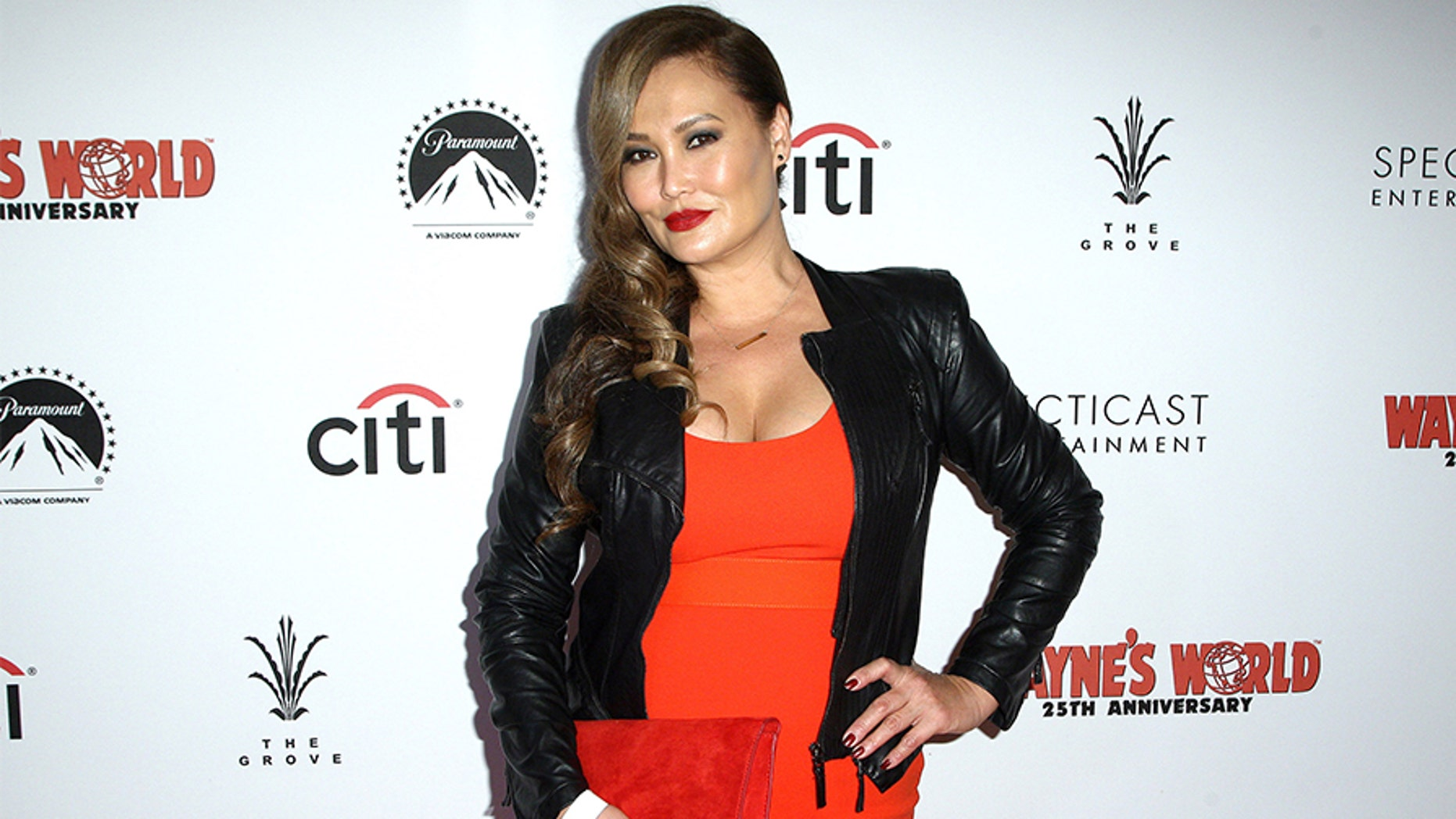 """Tia Carrere attends the """"Wayne's World"""" 25th Anniversary Panel Discussion at Pacific Theaters at the Grove on Jan. 9, 2017 in Los Angeles."""